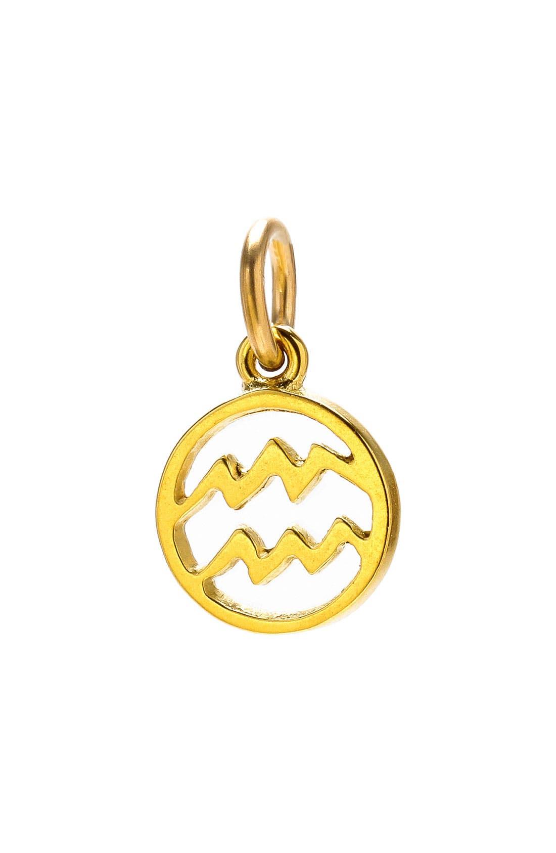 Main Image - Dogeared 'Create' Zodiac Charm