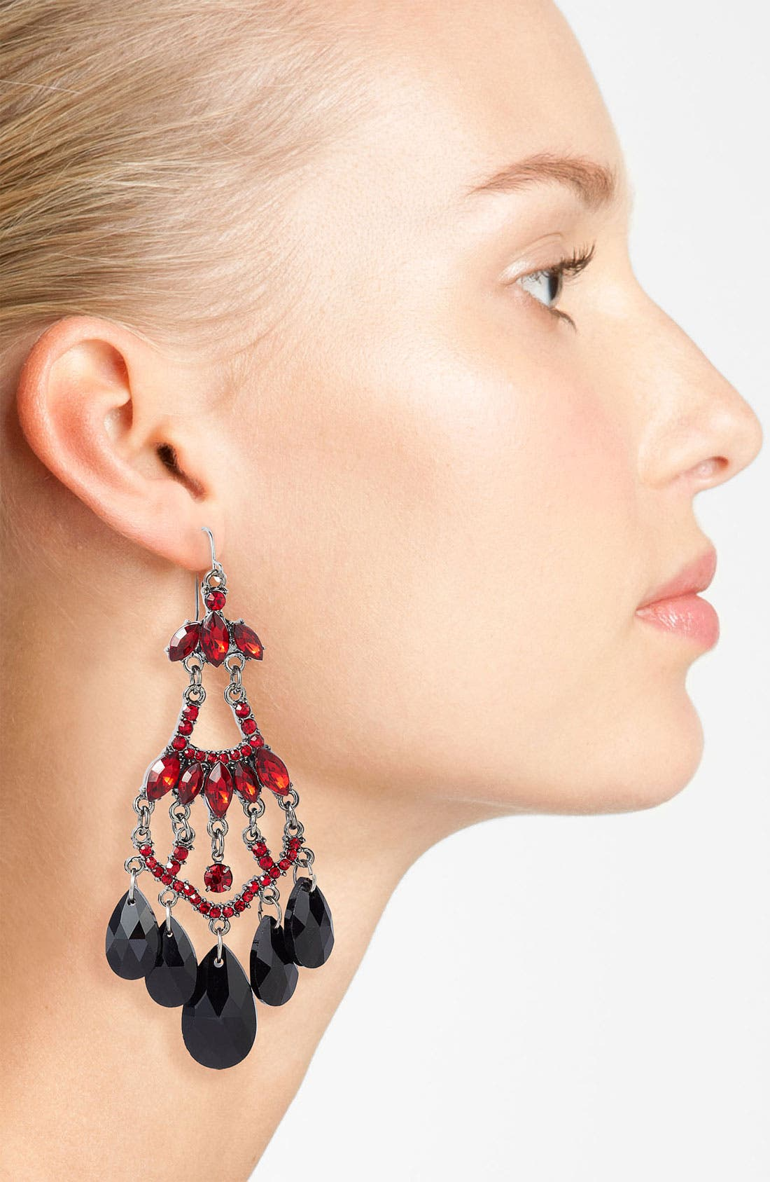 Alternate Image 2  - Spring Street Chandelier Earrings