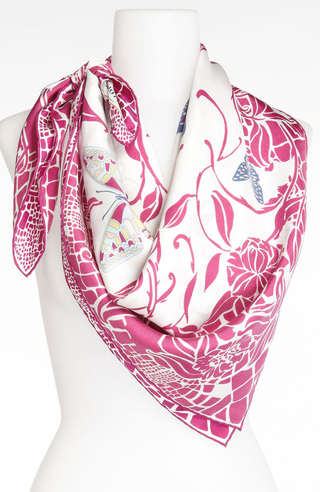 Alternate Image 1 Selected - Emilio Pucci 'Sylvan' Silk Scarf