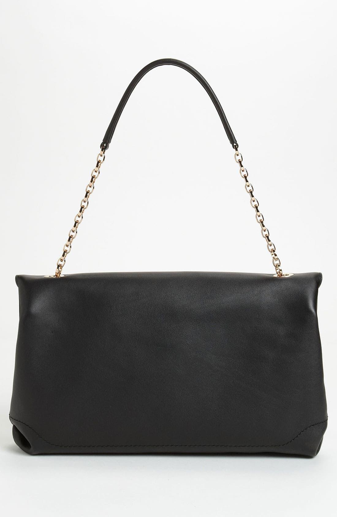 Alternate Image 4  - Salvatore Ferragamo Chain Strap Leather Shoulder Bag