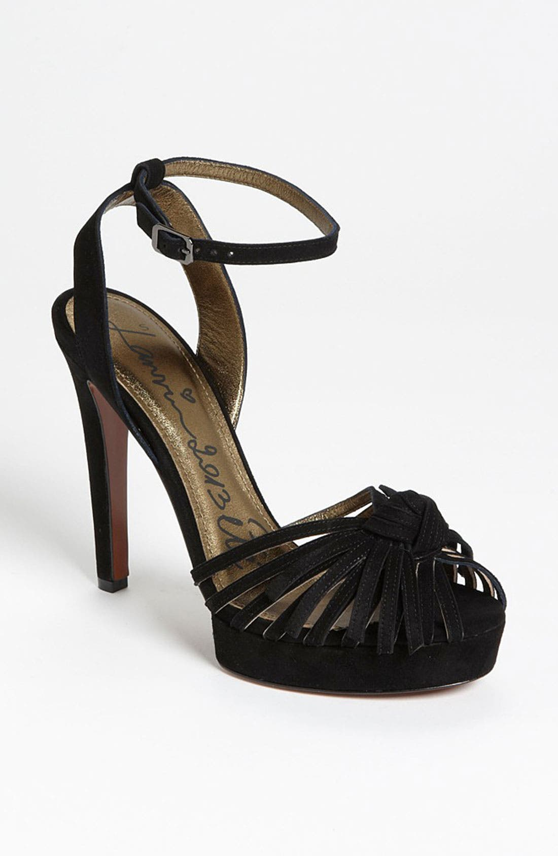 Alternate Image 1 Selected - Lanvin Stiletto Knot Sandal