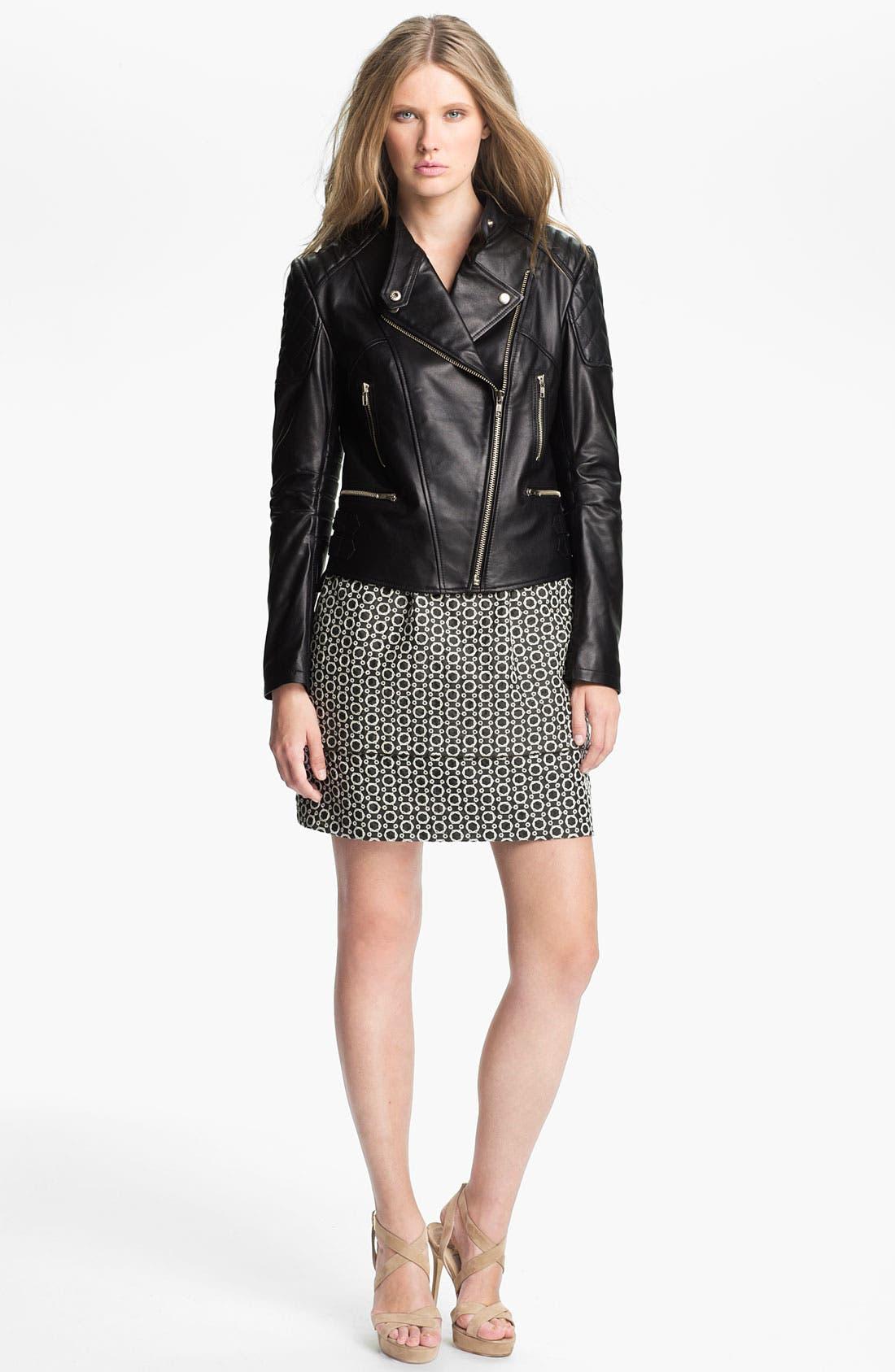 Alternate Image 4  - Mcginn 'Carleigh' Leather Moto Jacket