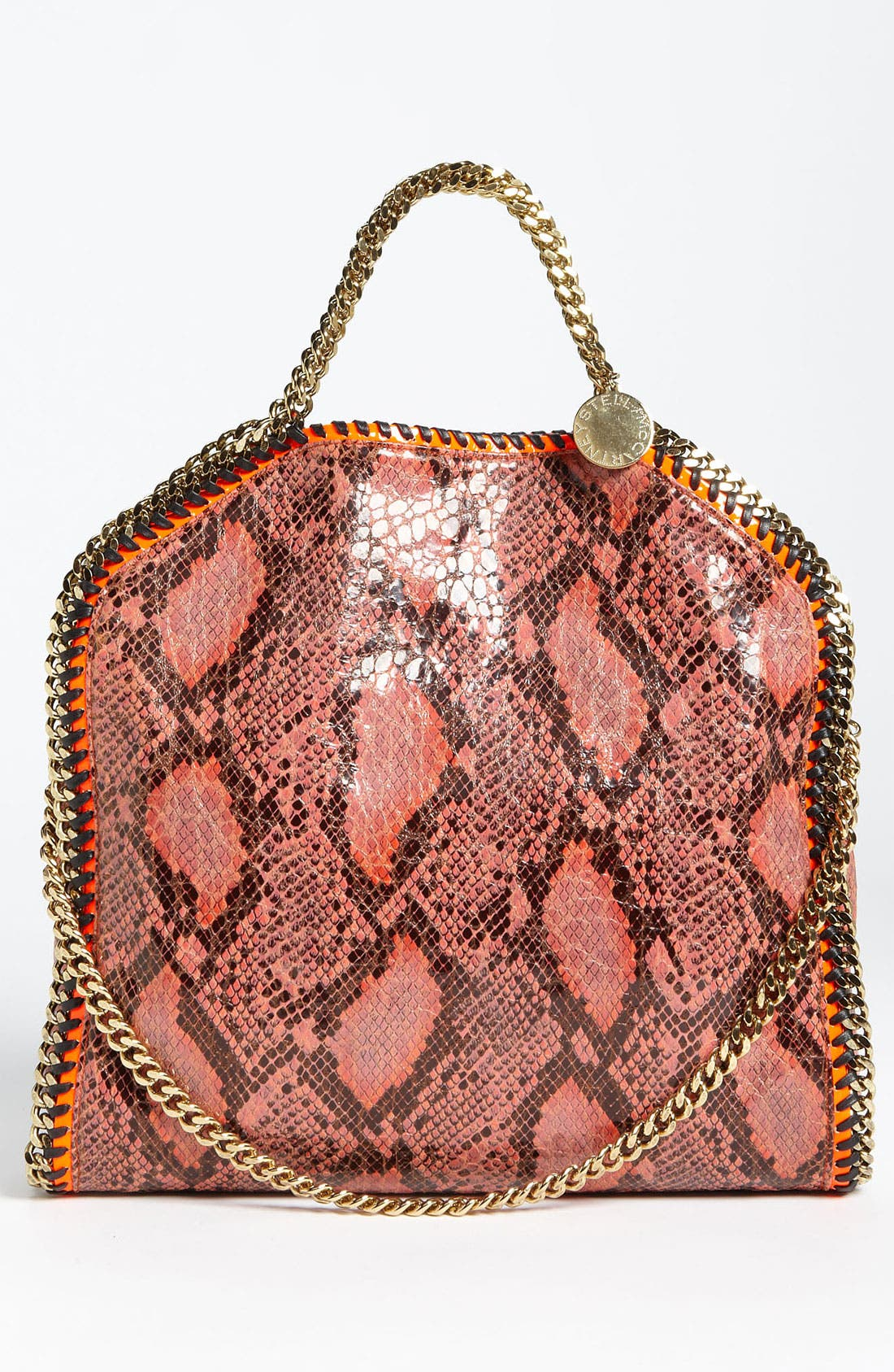 Alternate Image 4  - Stella McCartney 'Falabella' Faux Python Handbag
