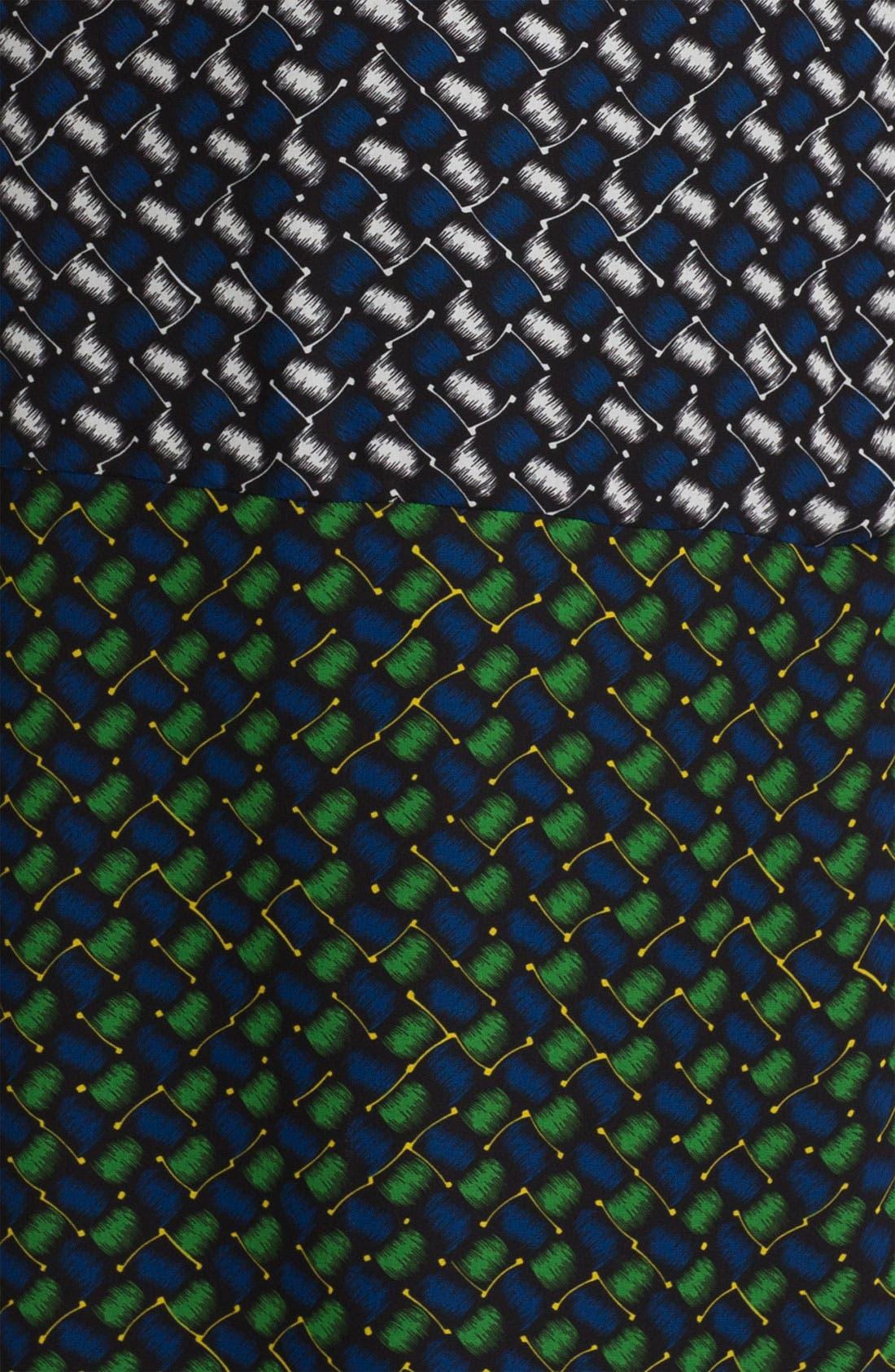 Alternate Image 2  - KENZO Basket Weave Print Maxi Skirt