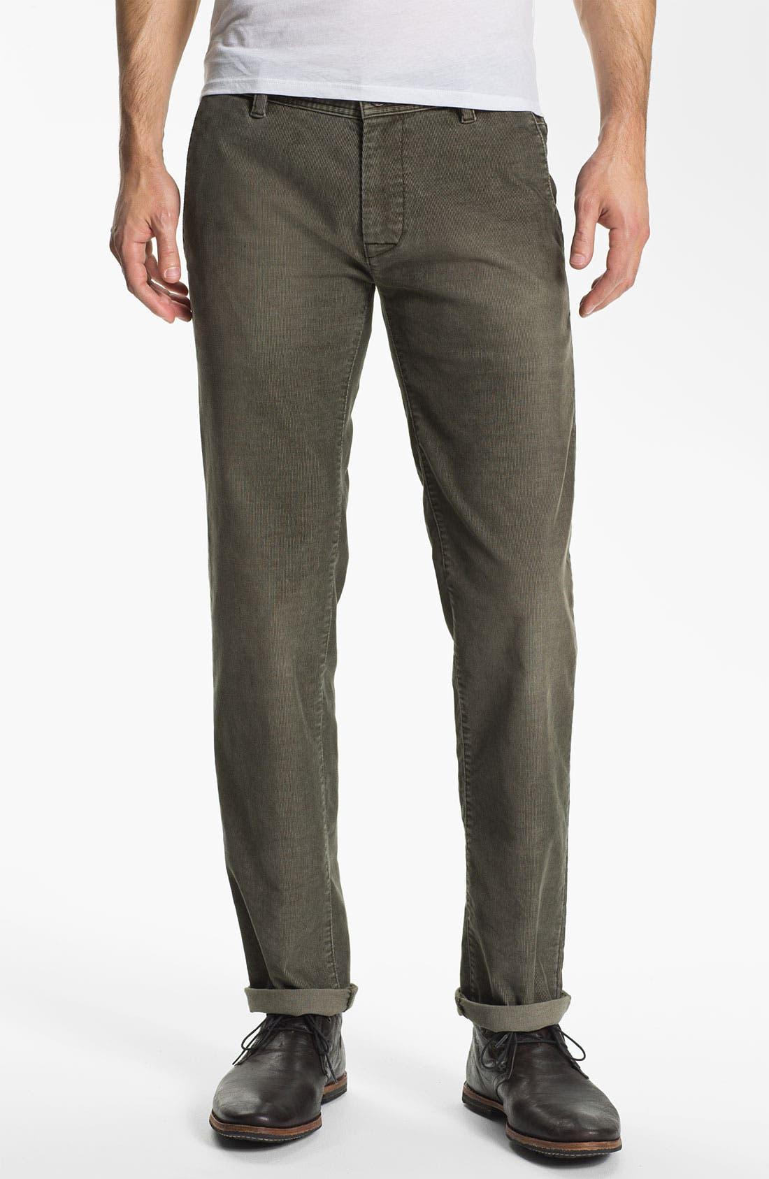 Alternate Image 1 Selected - BOSS Orange Slim Fit Corduroy Pants