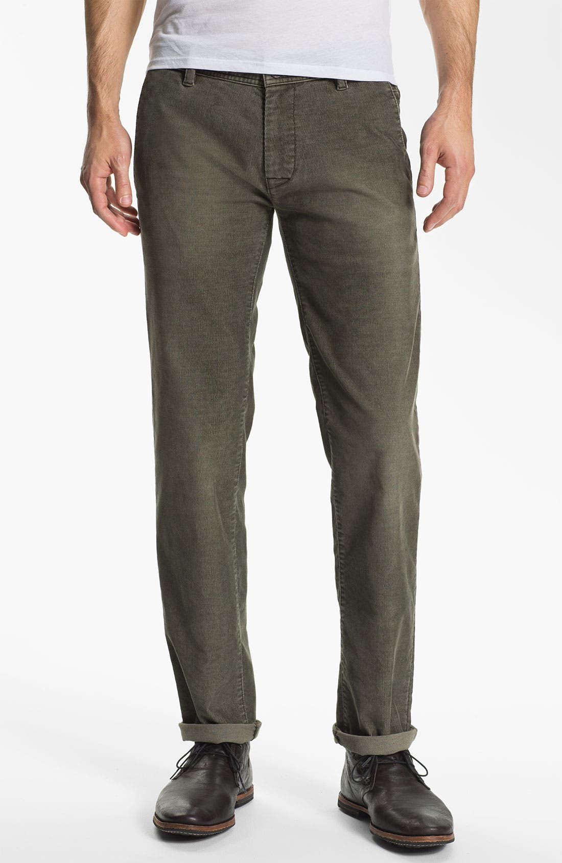 Main Image - BOSS Orange Slim Fit Corduroy Pants