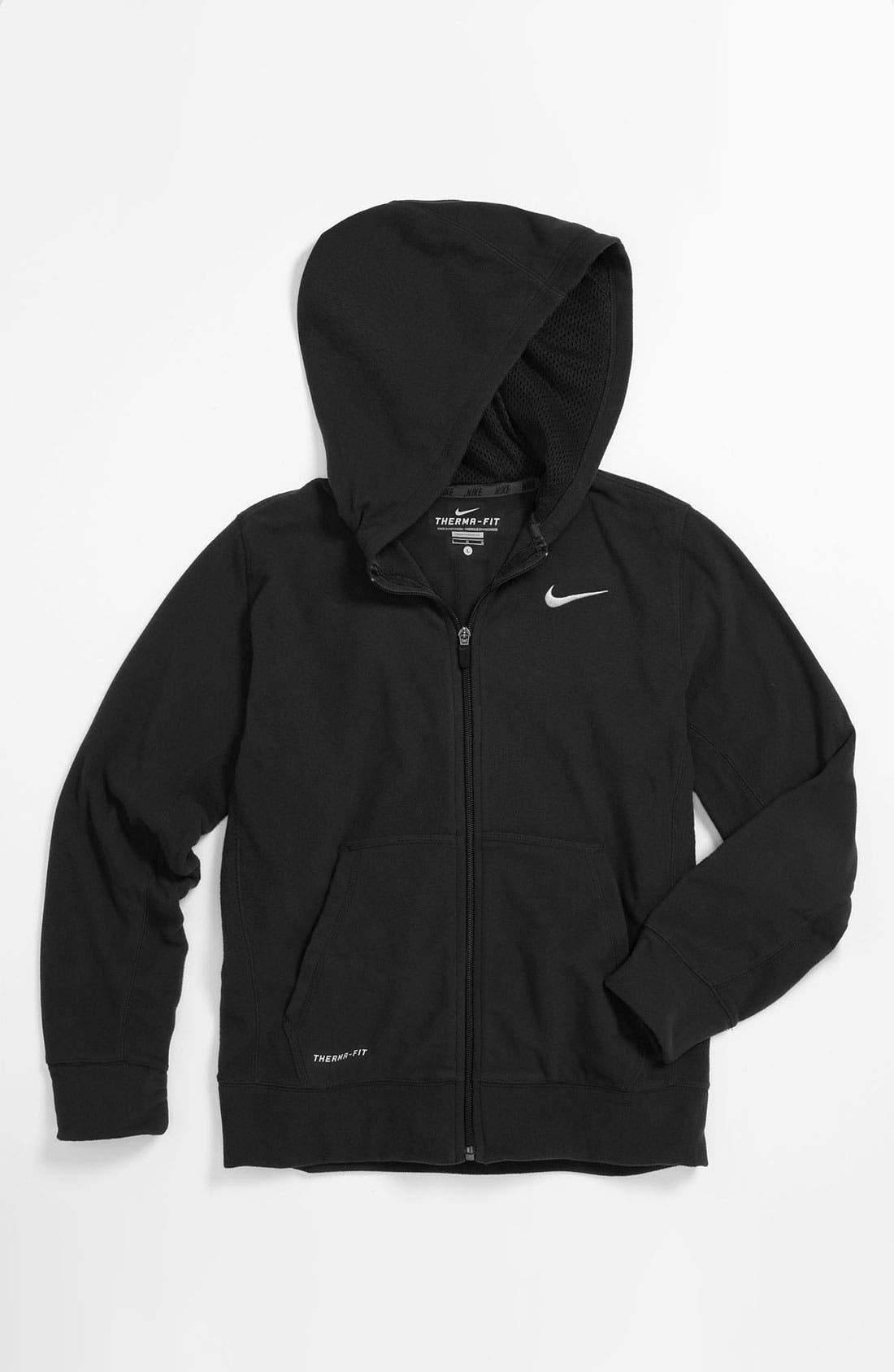 Alternate Image 1 Selected - Nike Therma-FIT Hoodie (Big Boys)