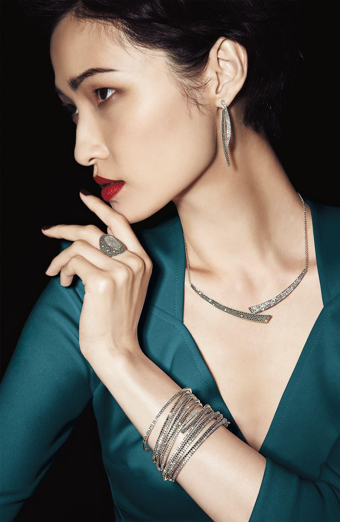 Alternate Image 3  - Judith Jack 'Crystal Glitz' Linear Earrings