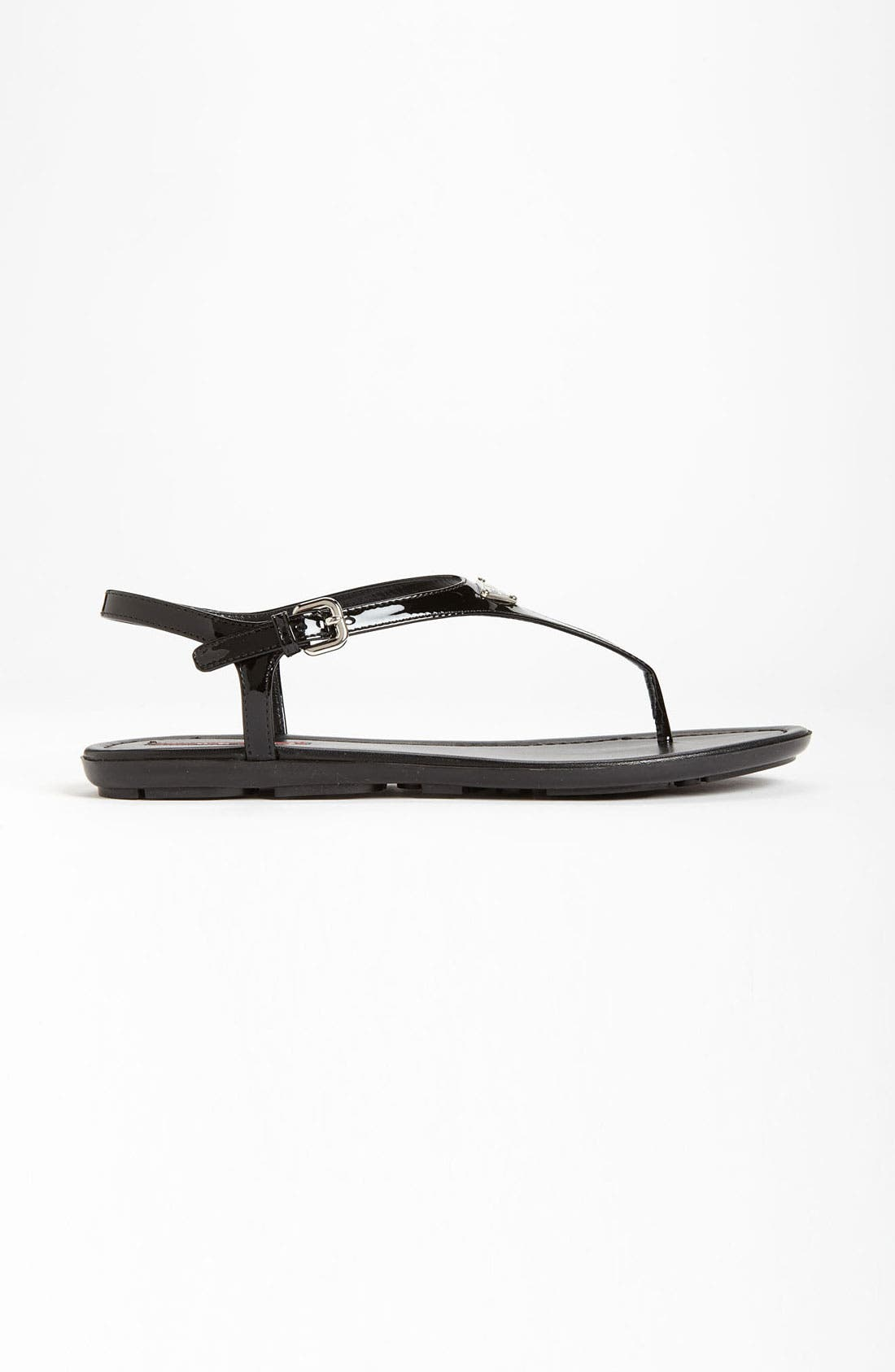 Alternate Image 4  - Prada Logo Thong Sandal