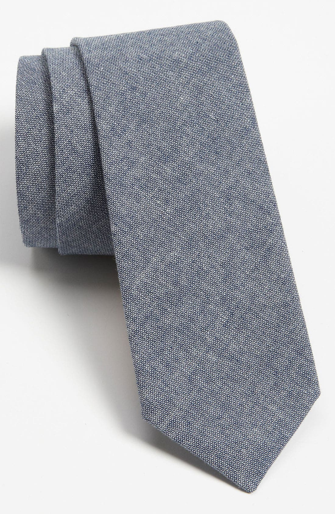 Main Image - The Tie Bar Woven Cotton Tie