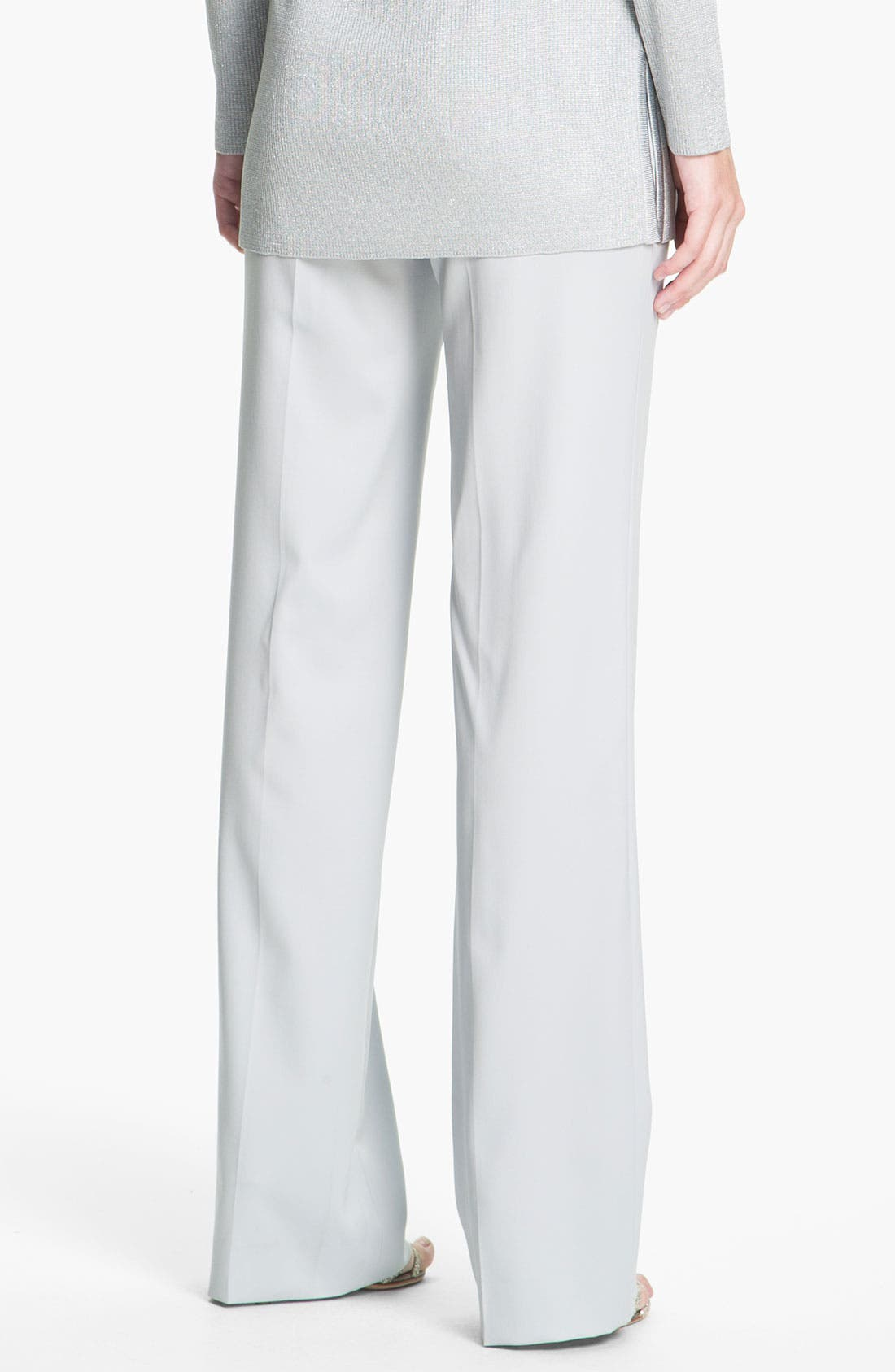 Alternate Image 3  - St. John Collection Venetian Wool Pants