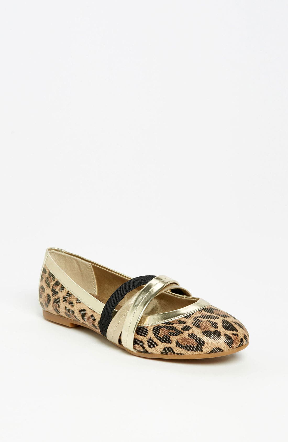 Alternate Image 1 Selected - Jessica Simpson 'Mandi' Flat (Toddler, Little Kid & Big Kid)