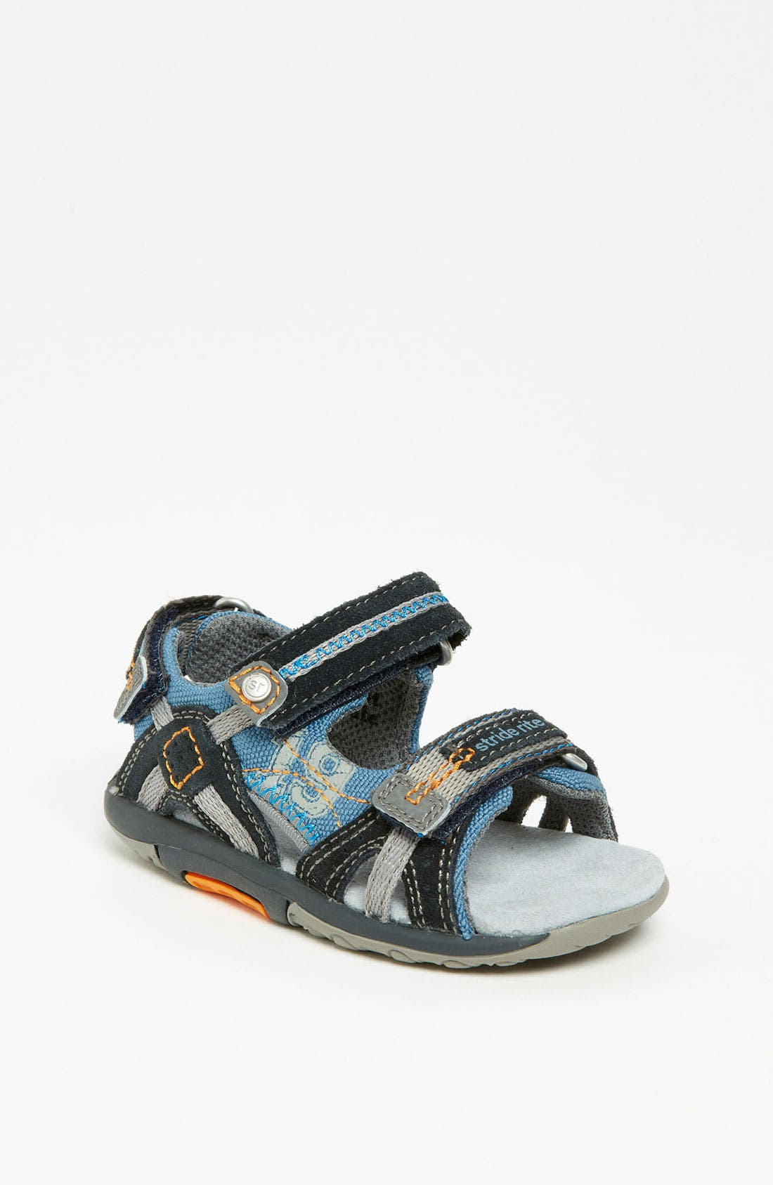Alternate Image 1 Selected - Stride Rite 'Scooter' Sandal (Baby, Walker & Toddler)