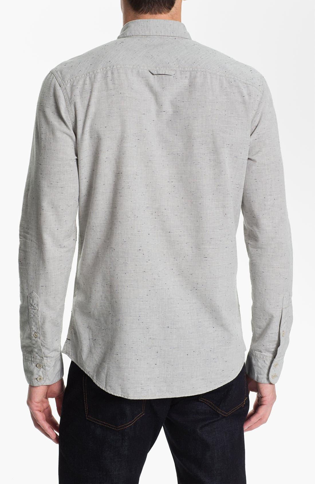 Alternate Image 2  - 1901 Nep Cotton Woven Shirt
