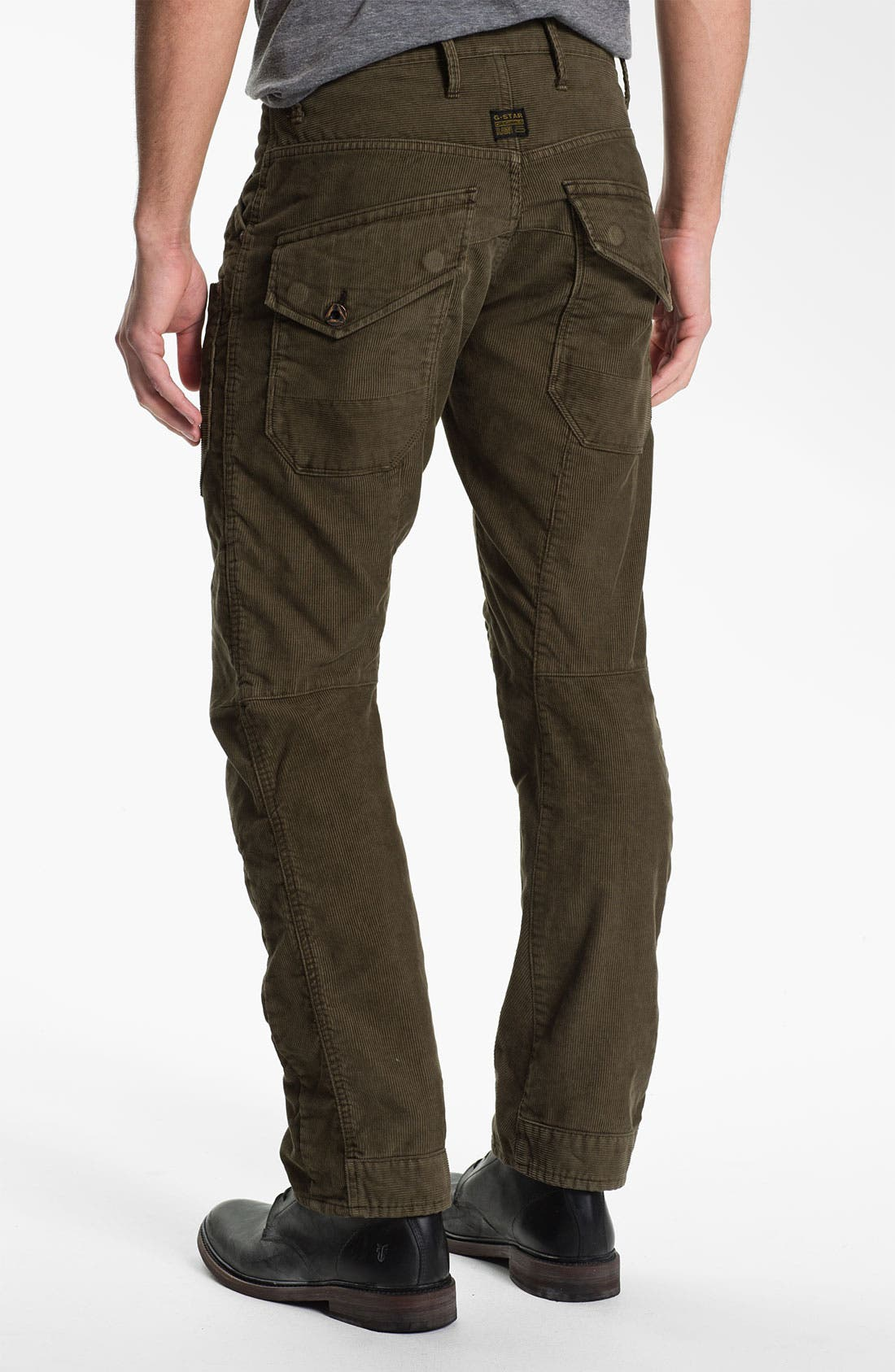 Alternate Image 1 Selected - G-Star Raw 'Skiff' Straight Leg Corduroy Pants