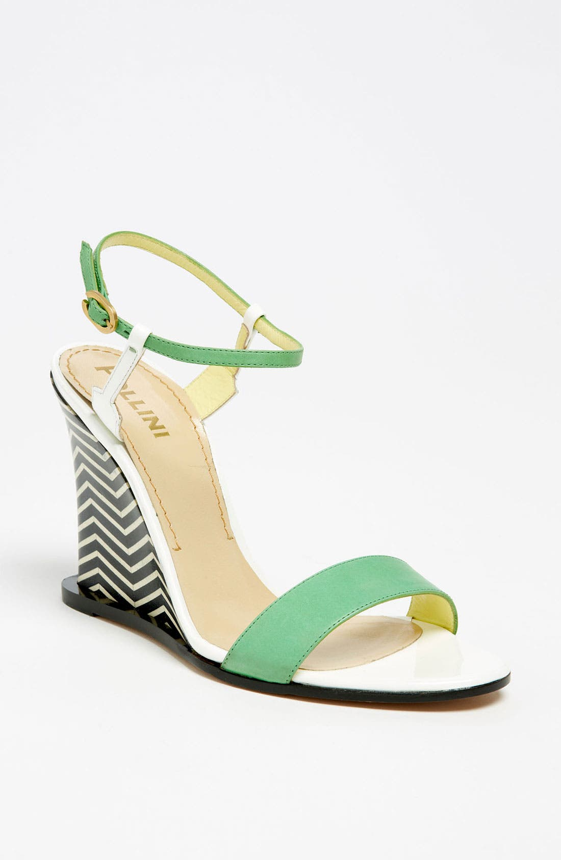 Alternate Image 1 Selected - Pollini Open Toe Wedge