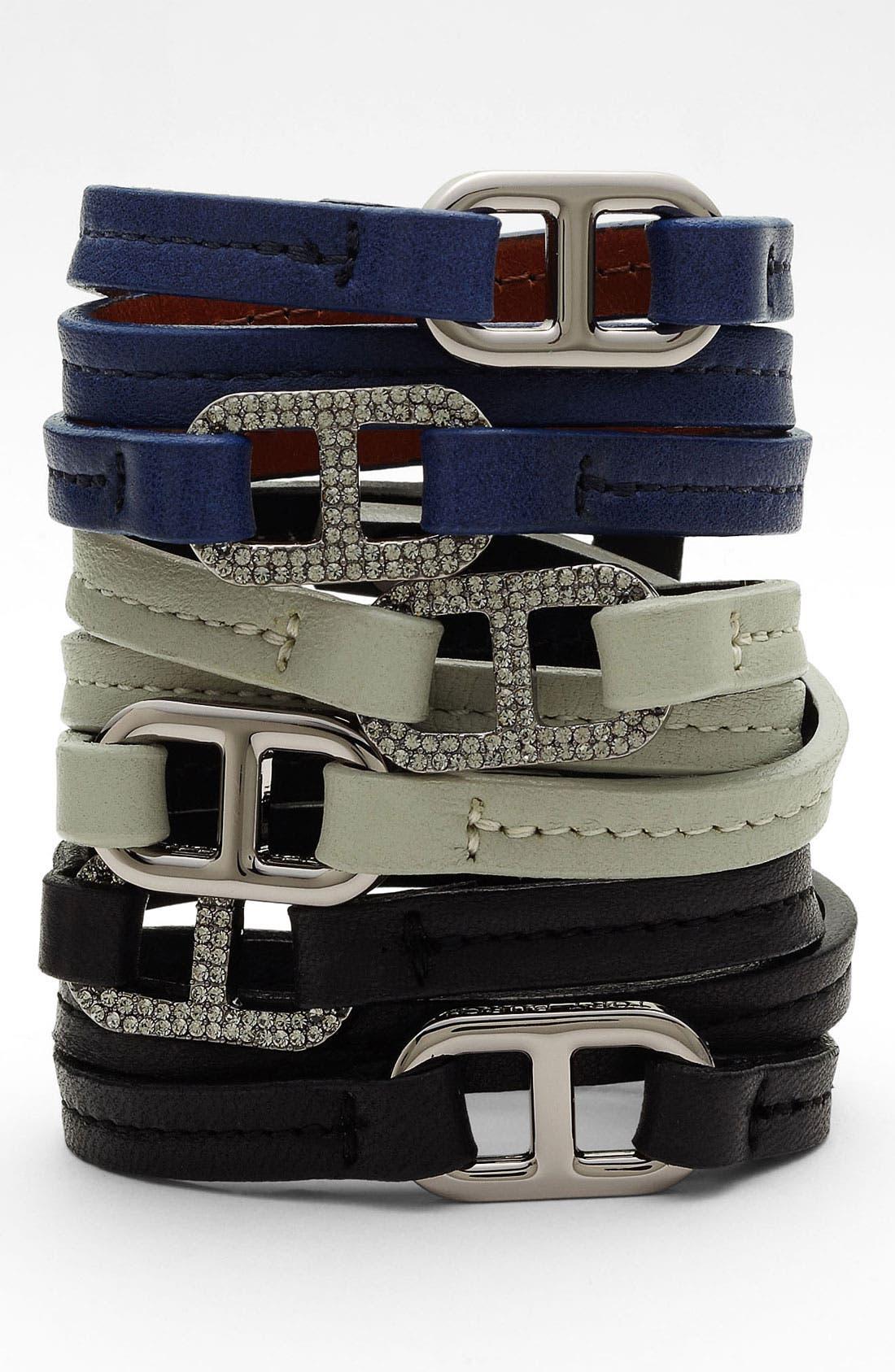 Alternate Image 1 Selected - Tory Burch 'Plato' Wrap Bracelet