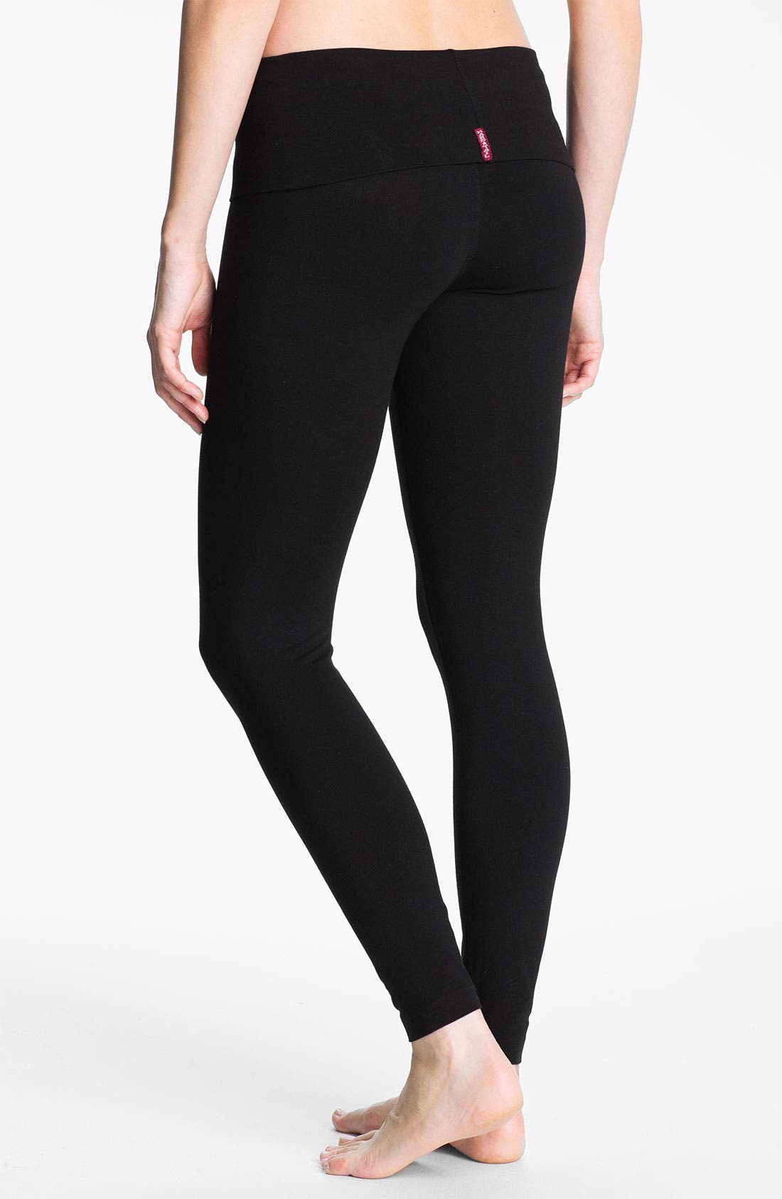 Alternate Image 2  - Hard Tail Roll Waist Leggings