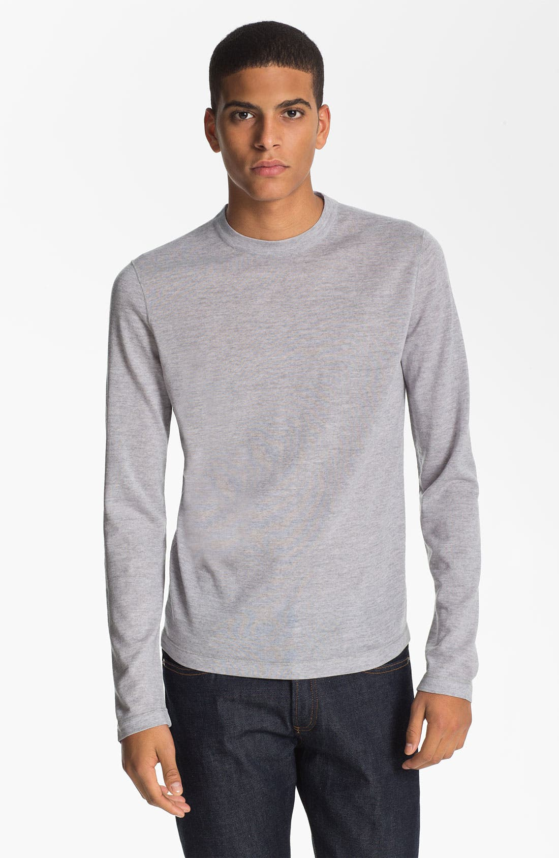 Alternate Image 1 Selected - Jil Sander Crewneck Wool Sweater