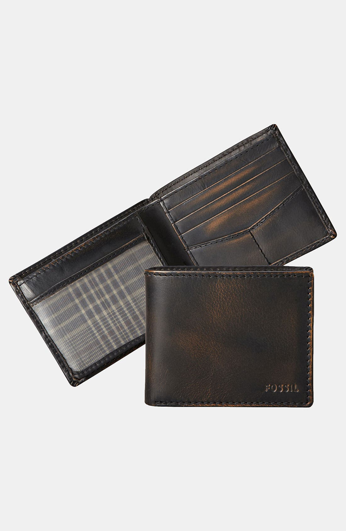 Alternate Image 4  - Fossil 'Carson' Traveler Wallet