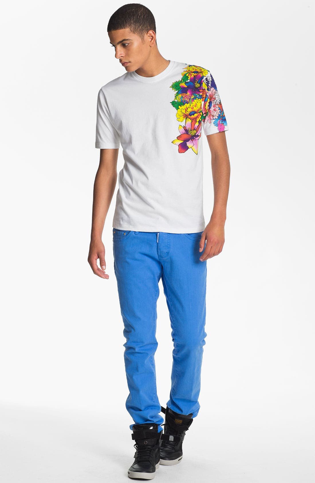 Alternate Image 4  - Dsquared2 'Tattoo Sleeve' Graphic T-Shirt