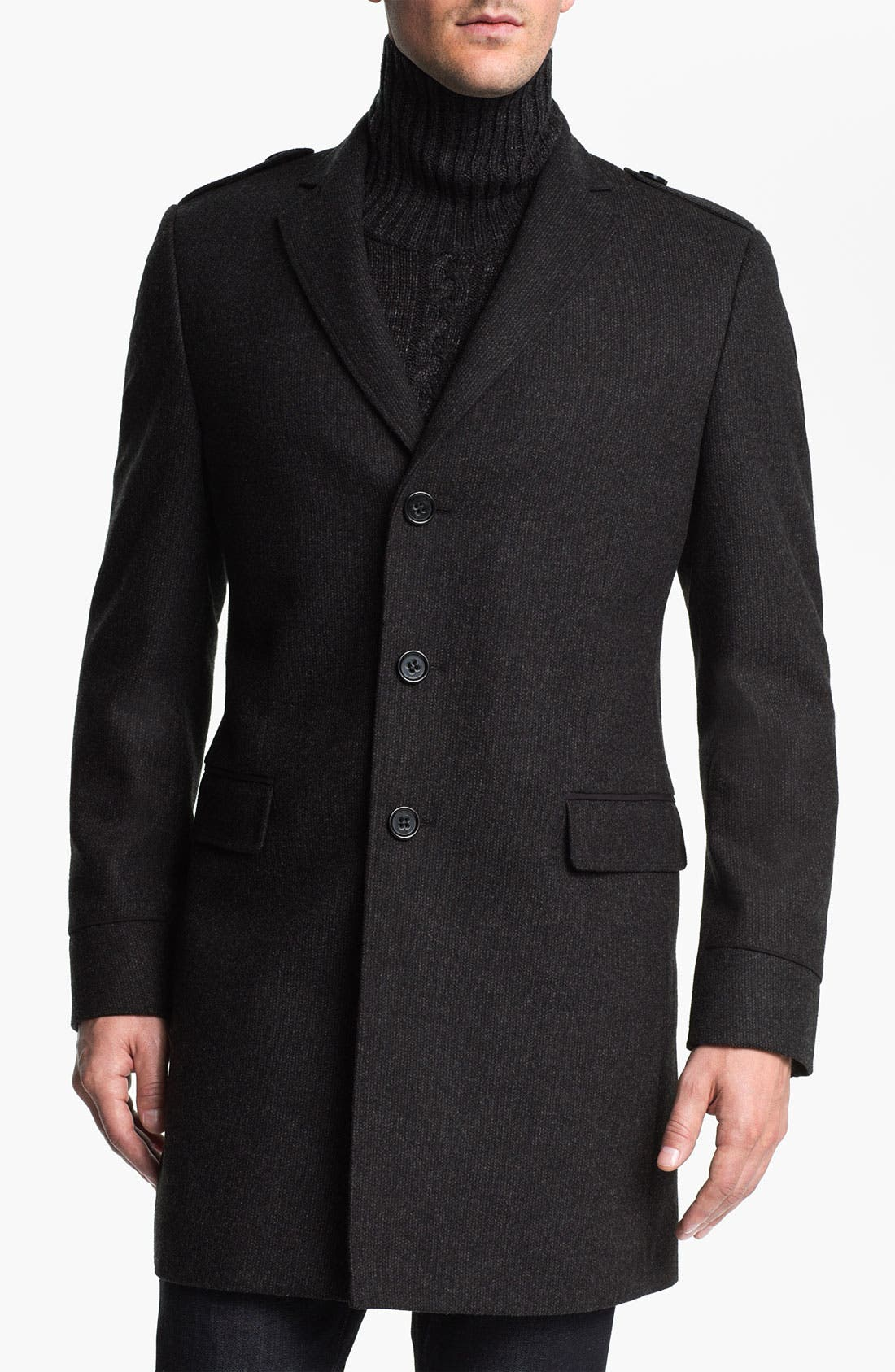 Alternate Image 1 Selected - 7 Diamonds 'Sefton' Wool Coat