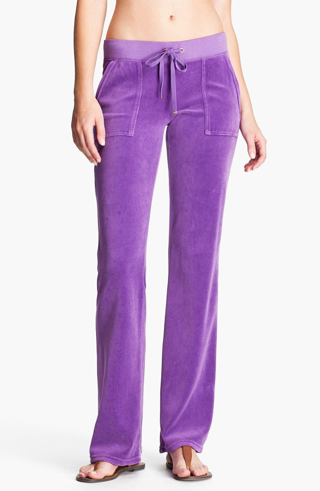 Main Image - Juicy Couture Velour Pocket Pants