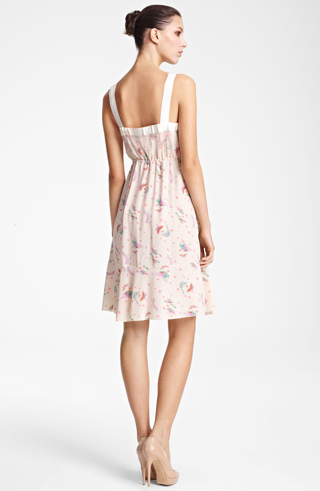 Alternate Image 2  - Nina Ricci Print Tank Dress