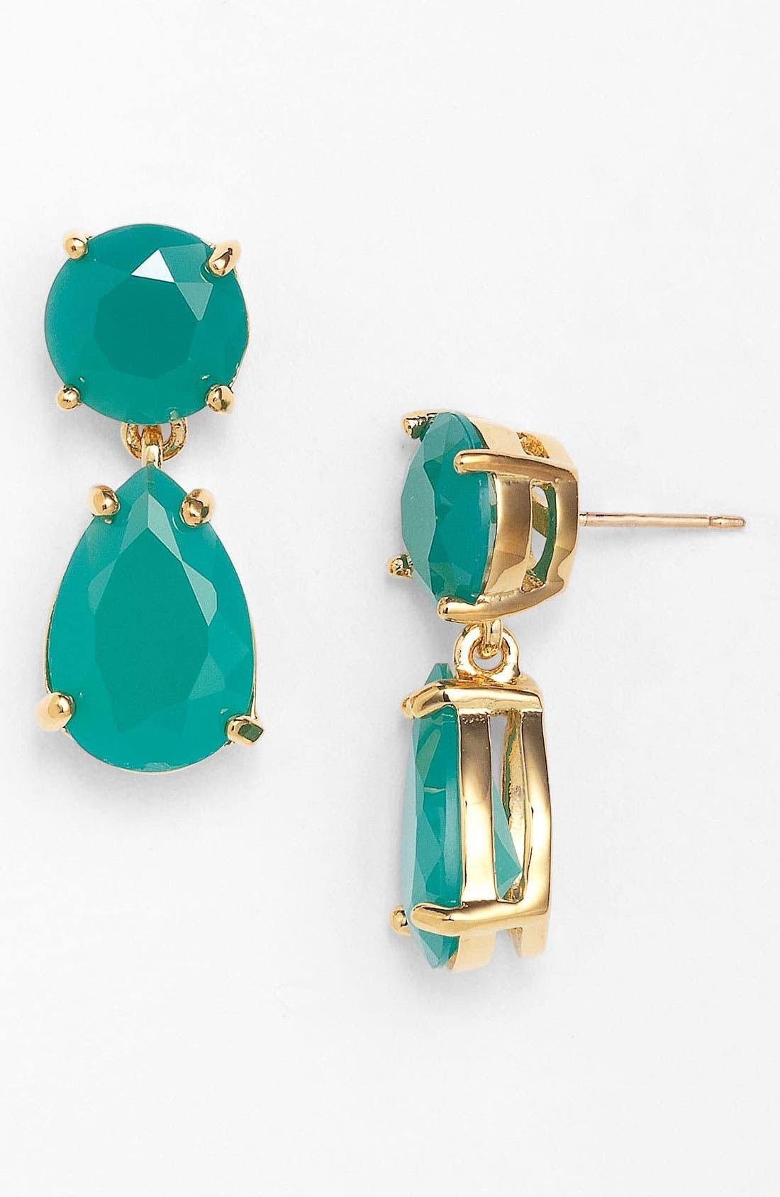 Alternate Image 1 Selected - kate spade new york boxed teardrop earrings