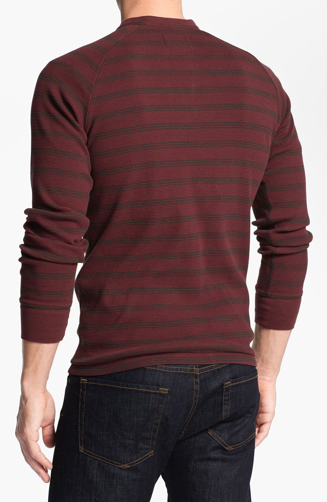 Alternate Image 2  - Jeremiah 'Jake' Stripe Henley