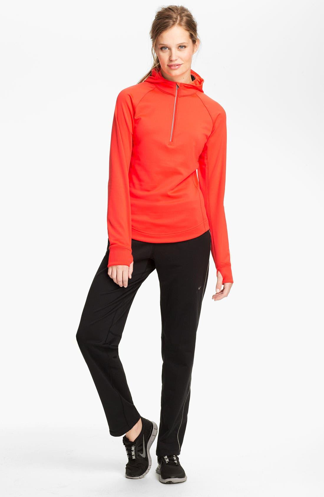 Alternate Image 4  - Nike 'Element' Thermal Half Zip Hoodie