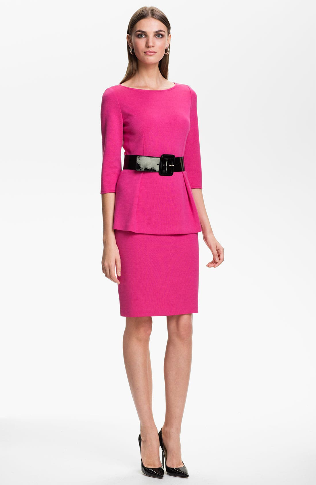 Alternate Image 2  - St. John Collection Milano Knit Pencil Skirt