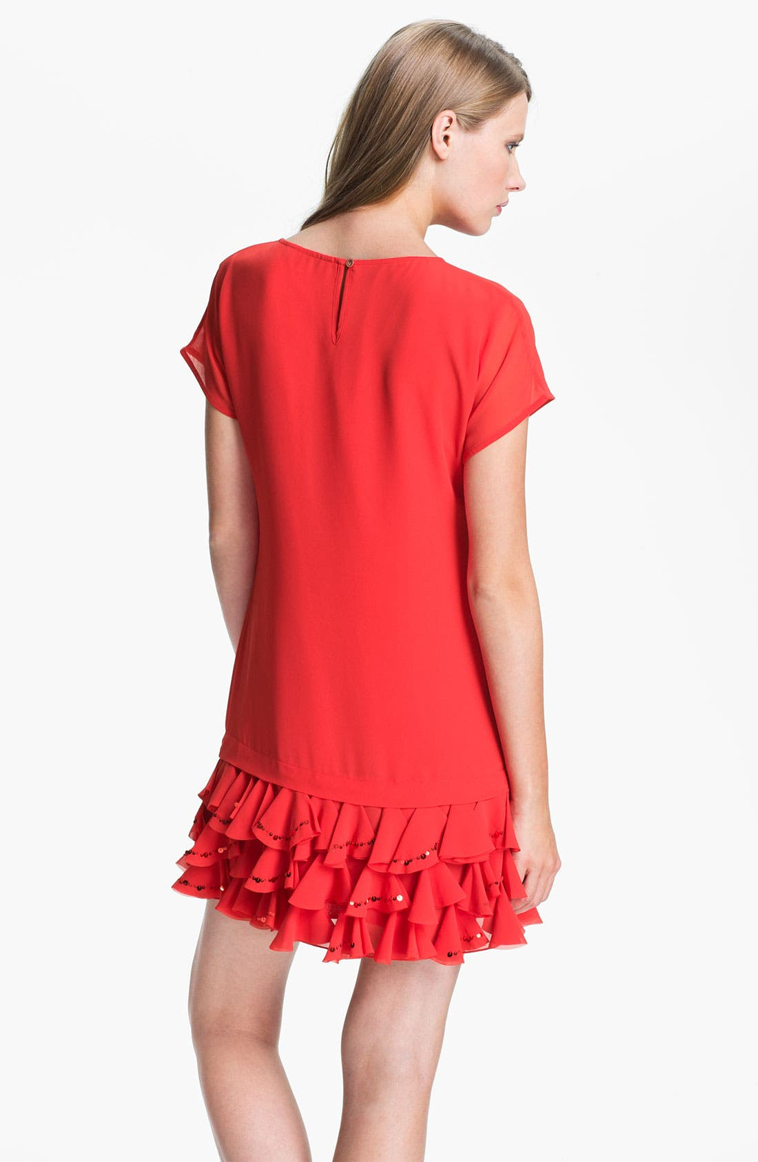 Alternate Image 2  - Ted Baker London Ruffle Tunic Dress