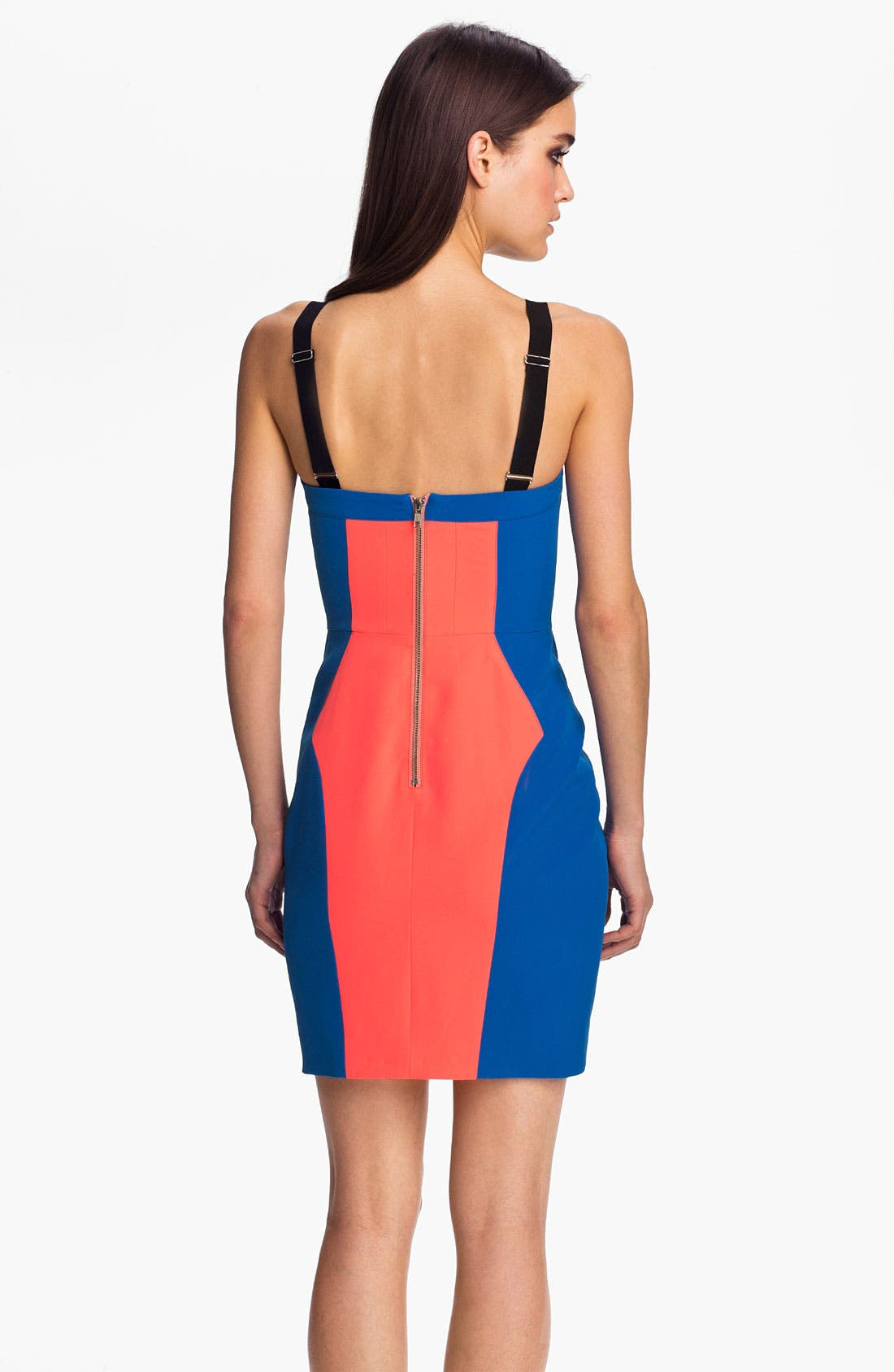 Alternate Image 2  - Rebecca Minkoff 'Claudia' Colorblock Body-Con Dress