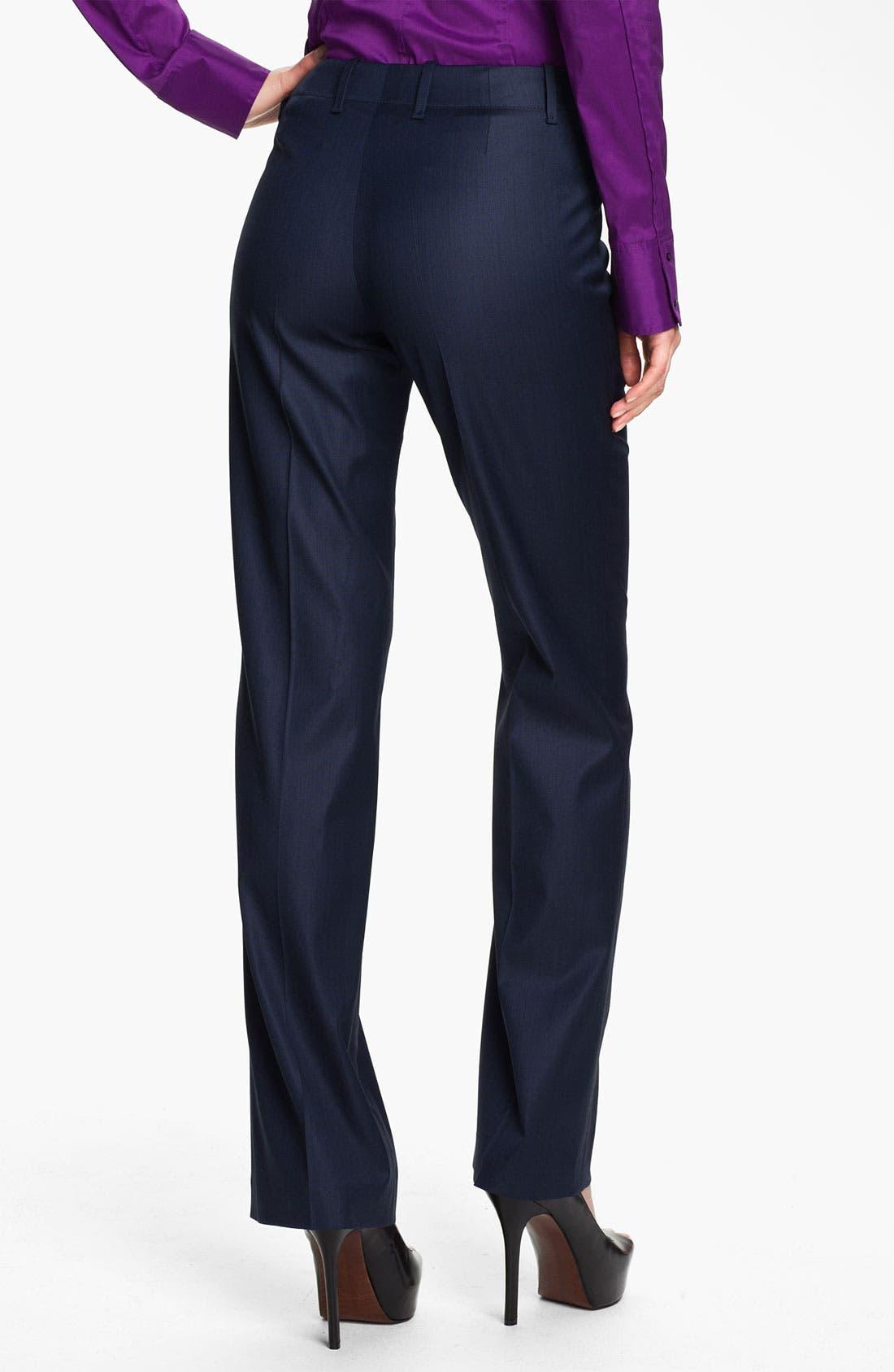 Alternate Image 2  - BOSS Black 'Tulia' Trousers