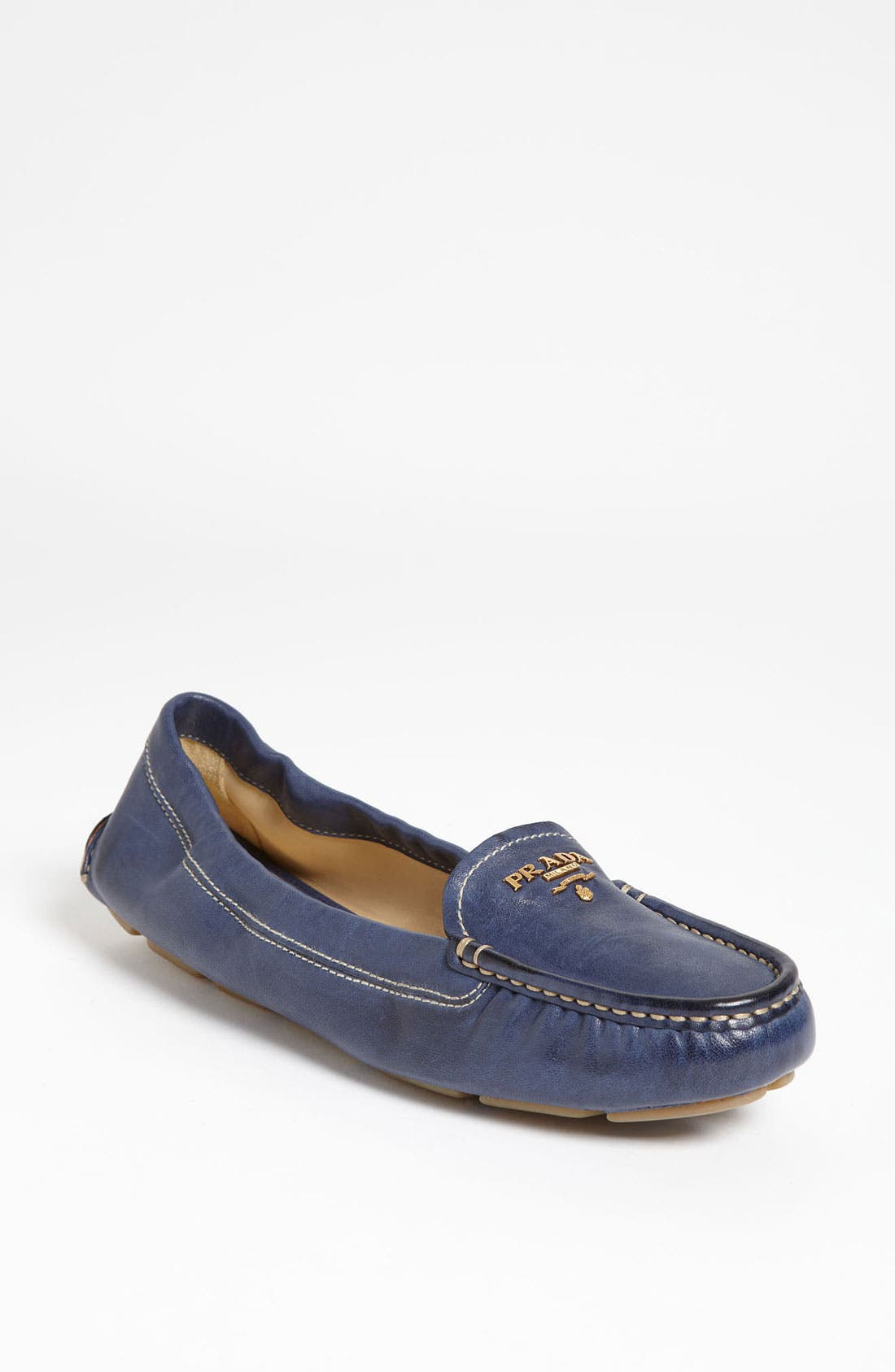 Alternate Image 1 Selected - Prada Scrunch Loafer