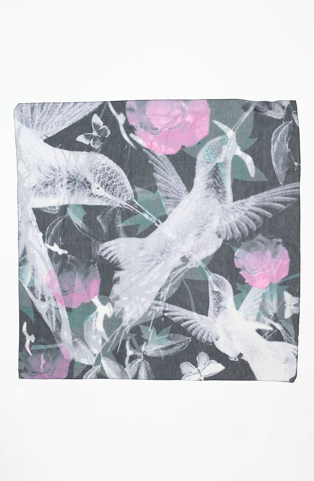 Alternate Image 2  - Front Row Society 'Meet in the Park at Night' Cotton & Silk Scarf