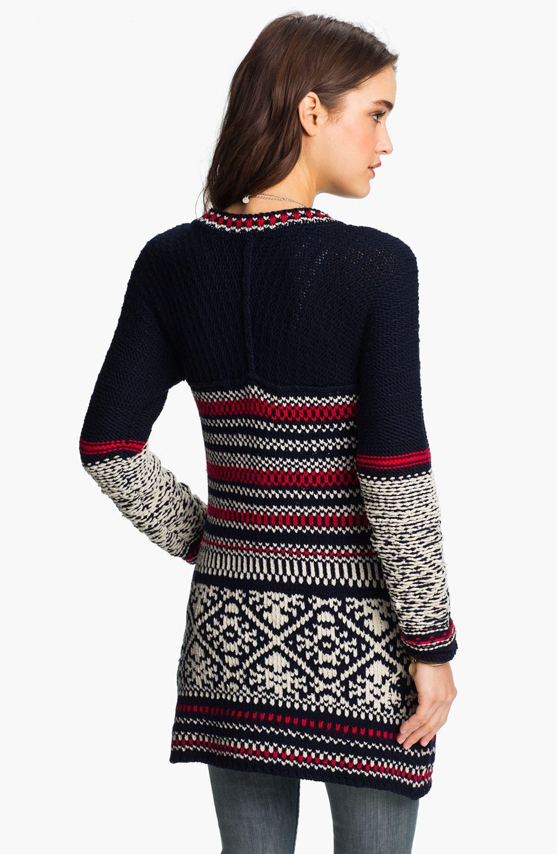 Alternate Image 2  - Free People 'Annabelle' Nordic Knit Cardigan