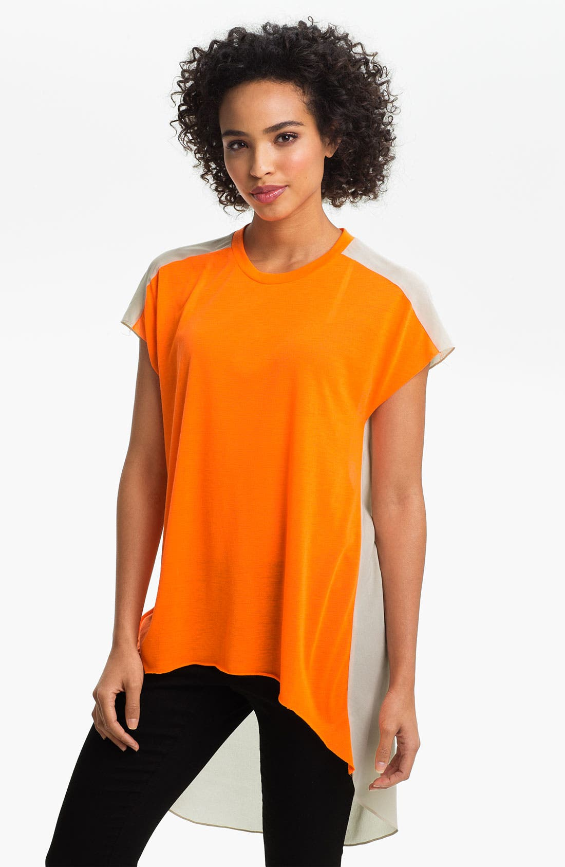 Alternate Image 1 Selected - Two by Vince Camuto Colorblock Tee