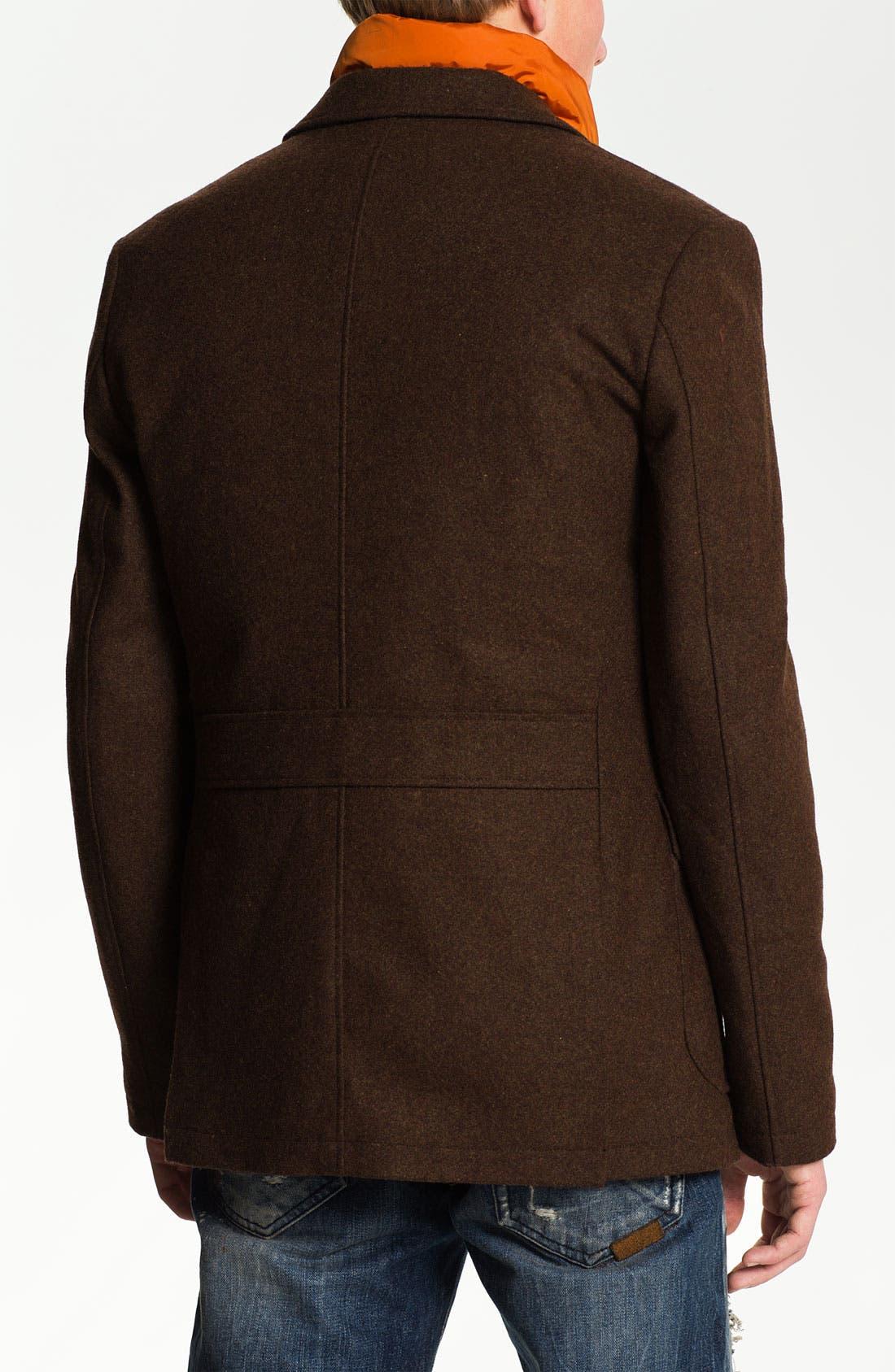 Alternate Image 2  - Scotch & Soda Hunting Blazer with Removable Vest