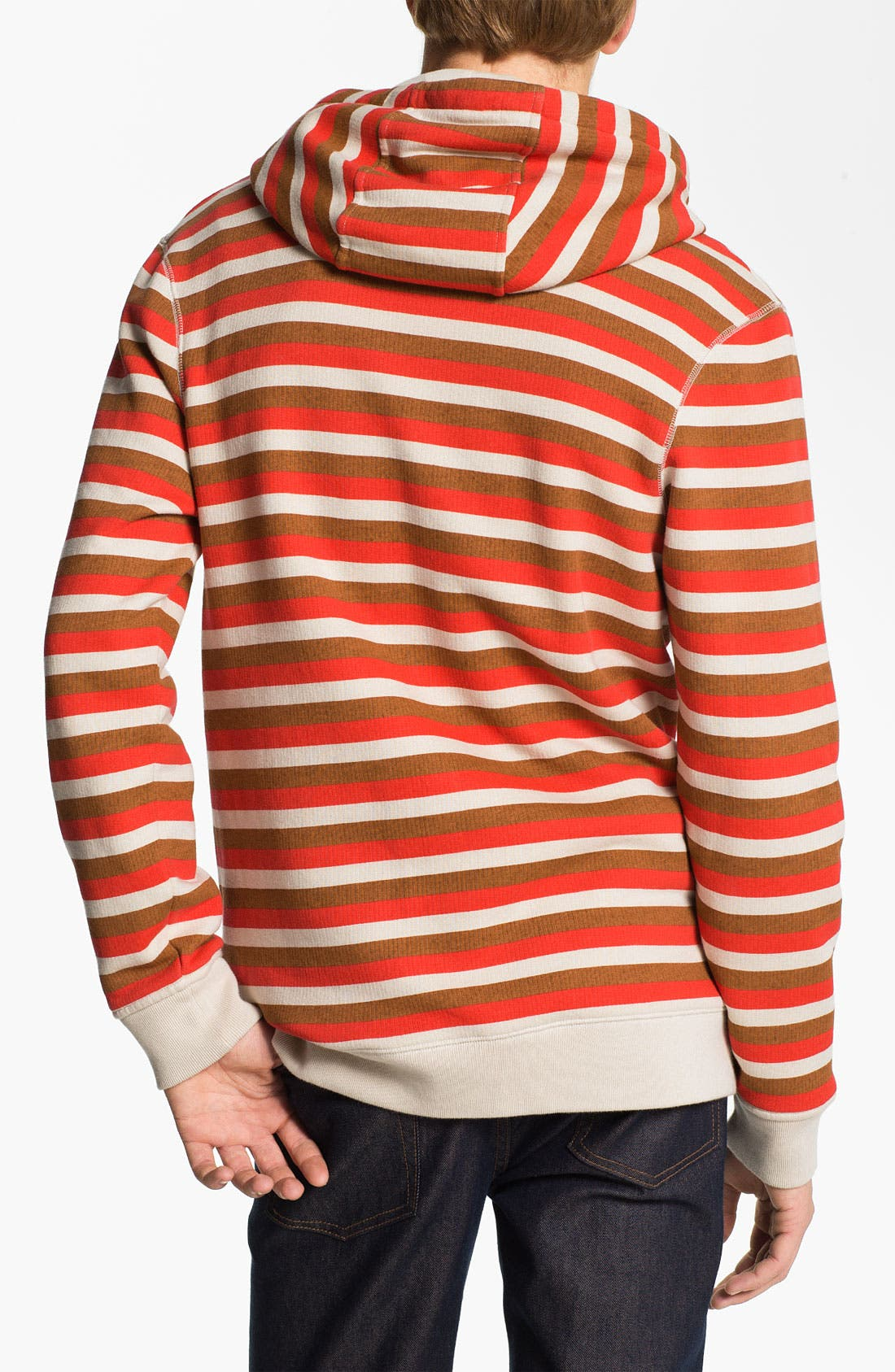Alternate Image 2  - MARC BY MARC JACOBS 'Elliott' Stripe Print Hoodie