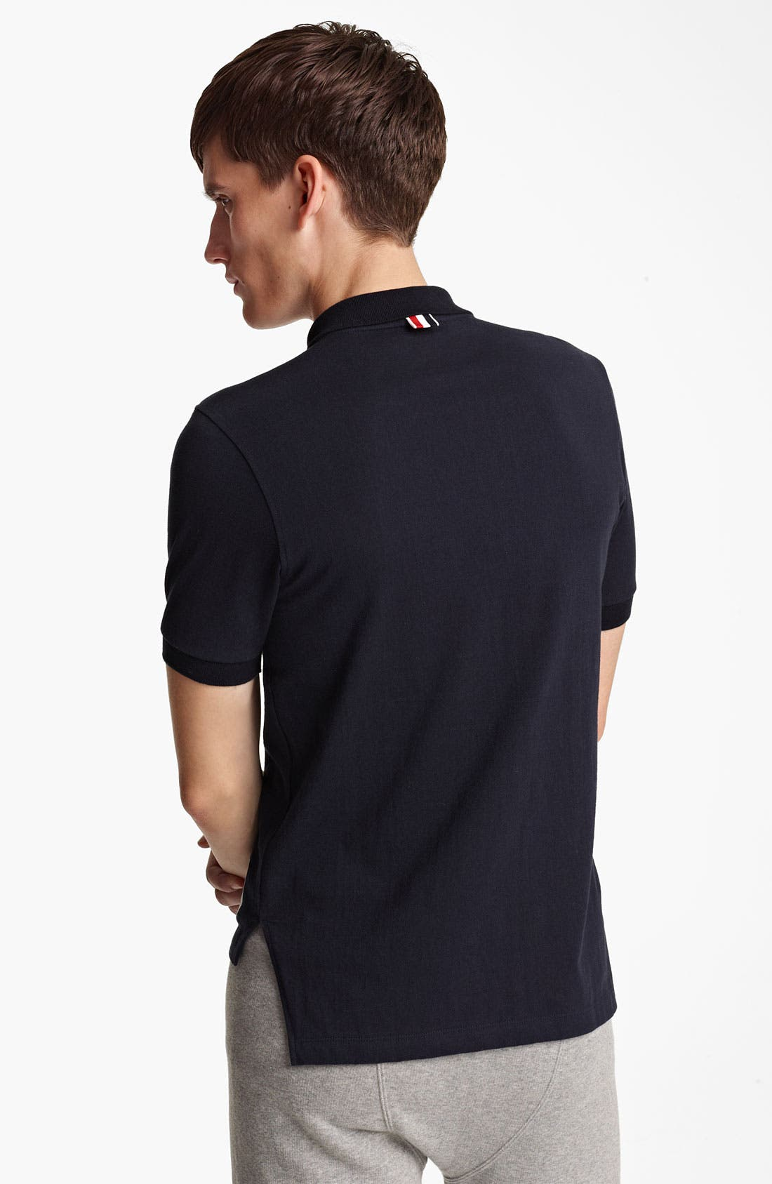 Alternate Image 2  - Thom Browne Cotton Jersey Polo