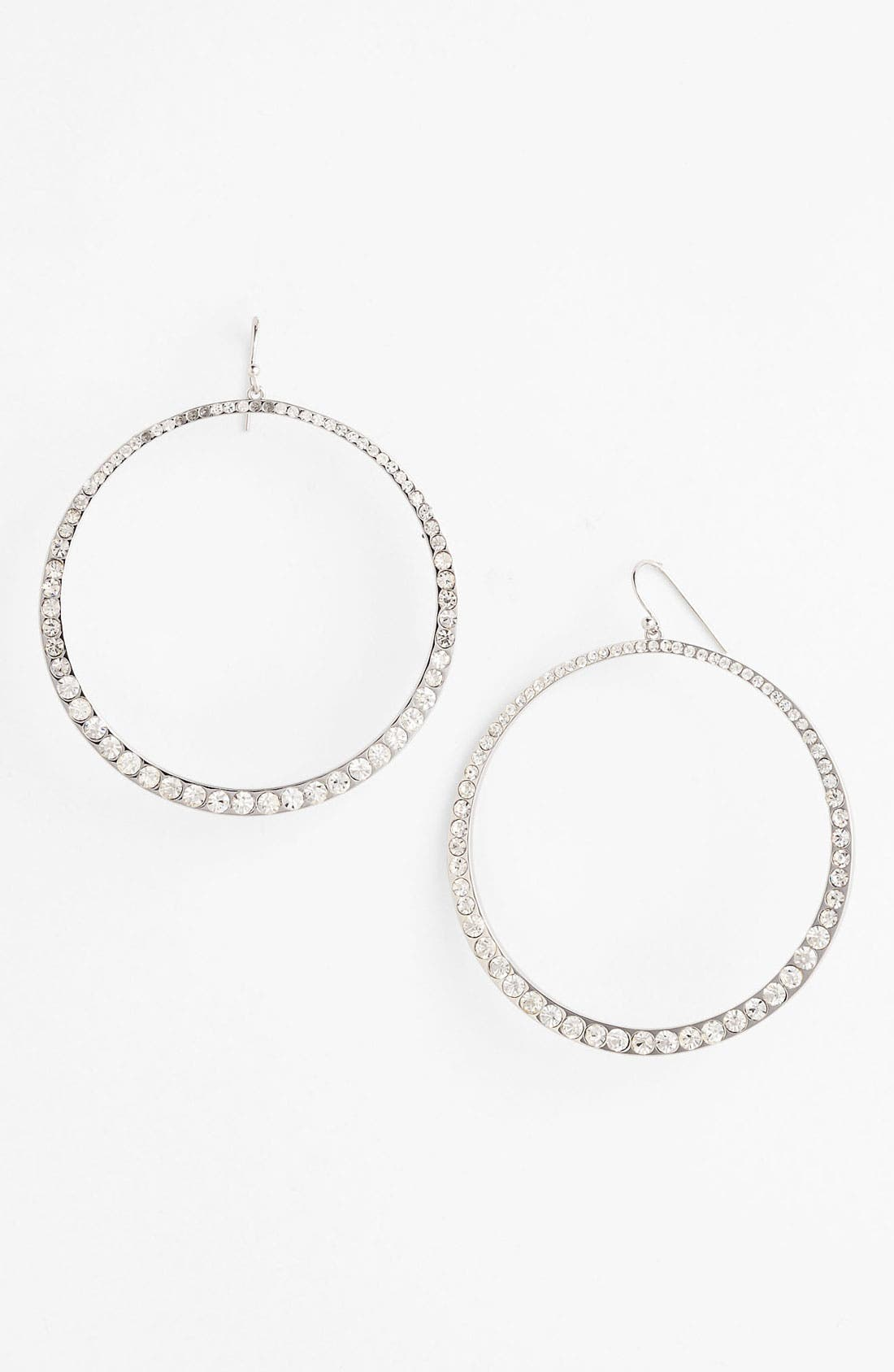 Alternate Image 1 Selected - Vince Camuto 'Speakeasy' Frontal Hoop Earrings
