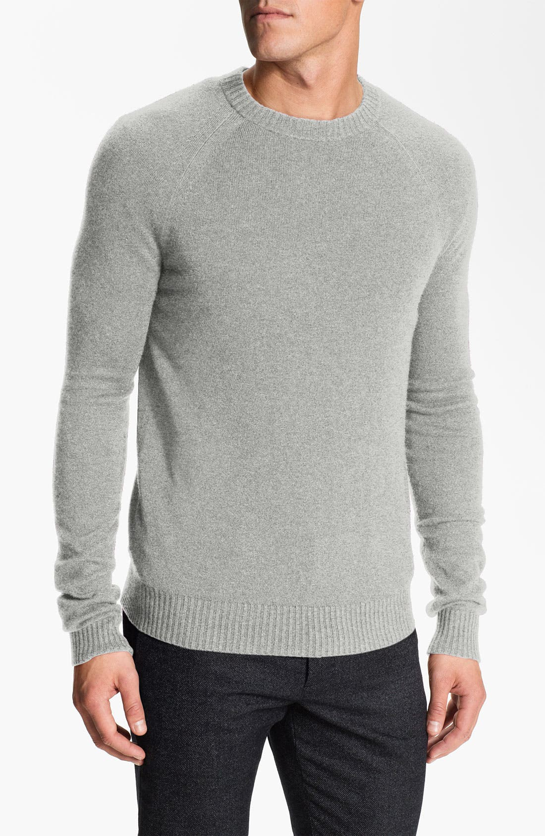 Alternate Image 1 Selected - Theory 'Lorenz' Cashmere Crewneck Sweater.