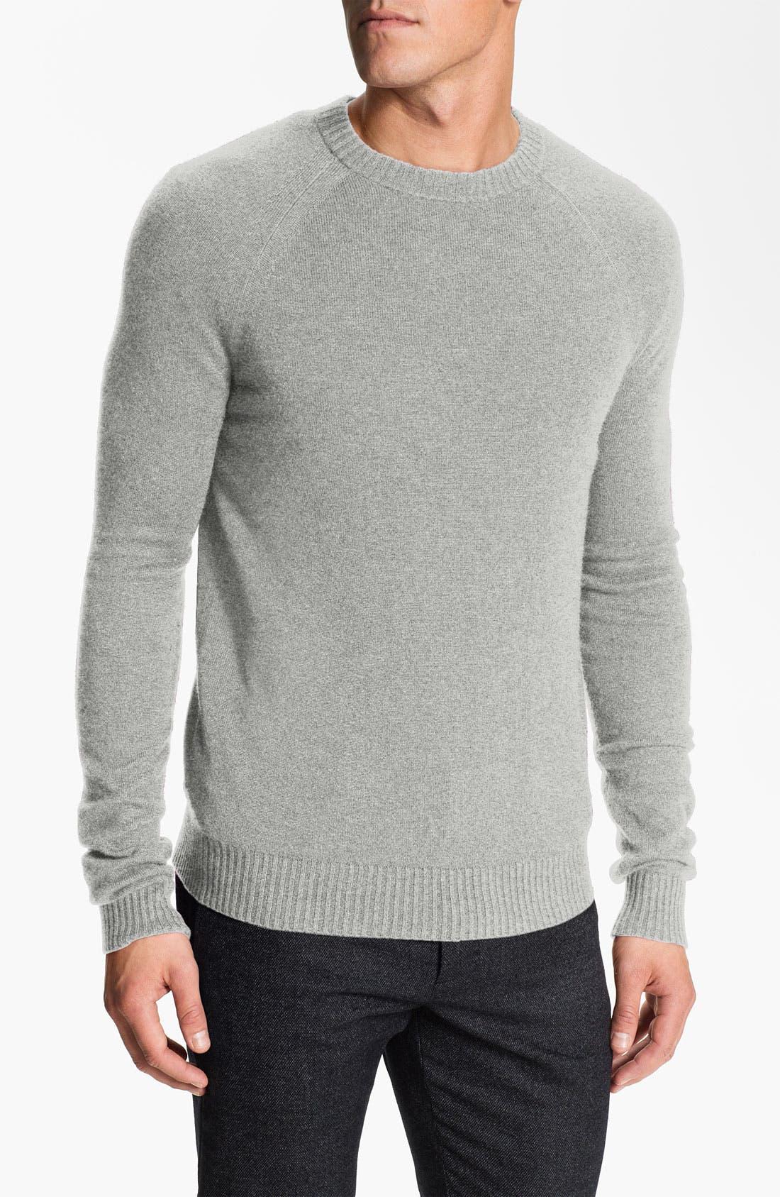 Main Image - Theory 'Lorenz' Cashmere Crewneck Sweater.