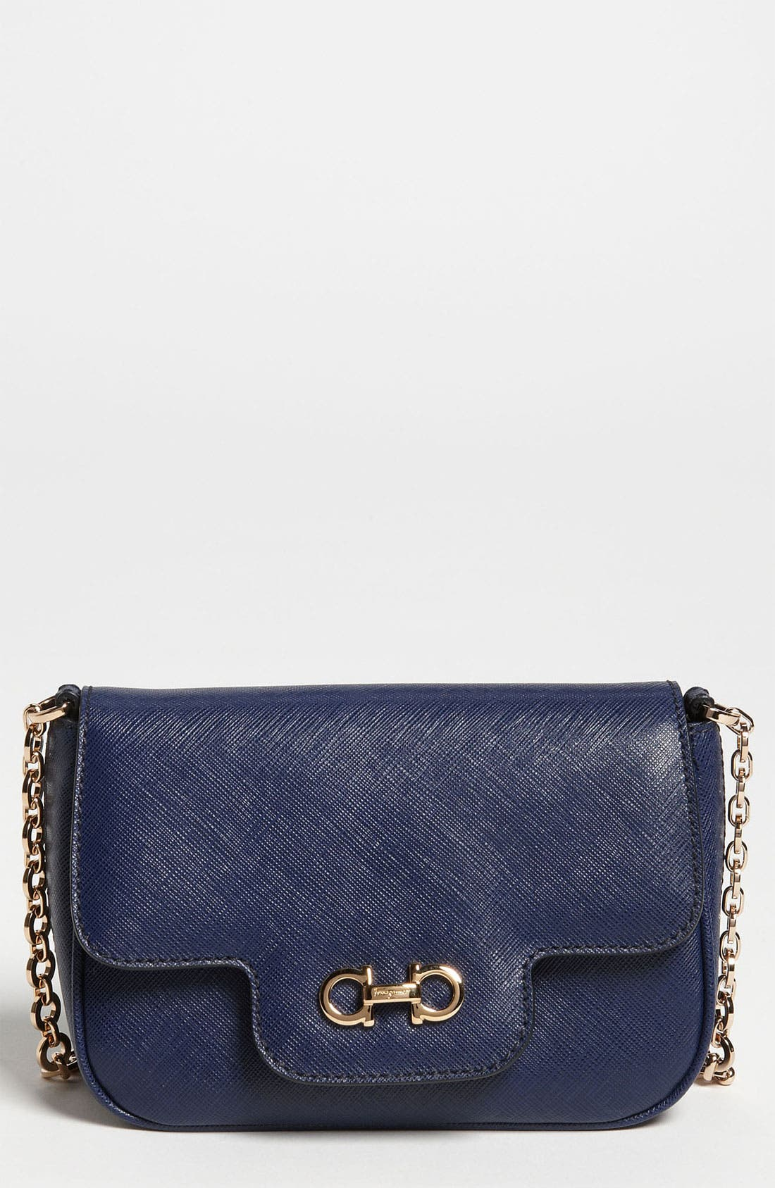 Main Image - Salvatore Ferragamo 'Fancy' Leather Shoulder Bag