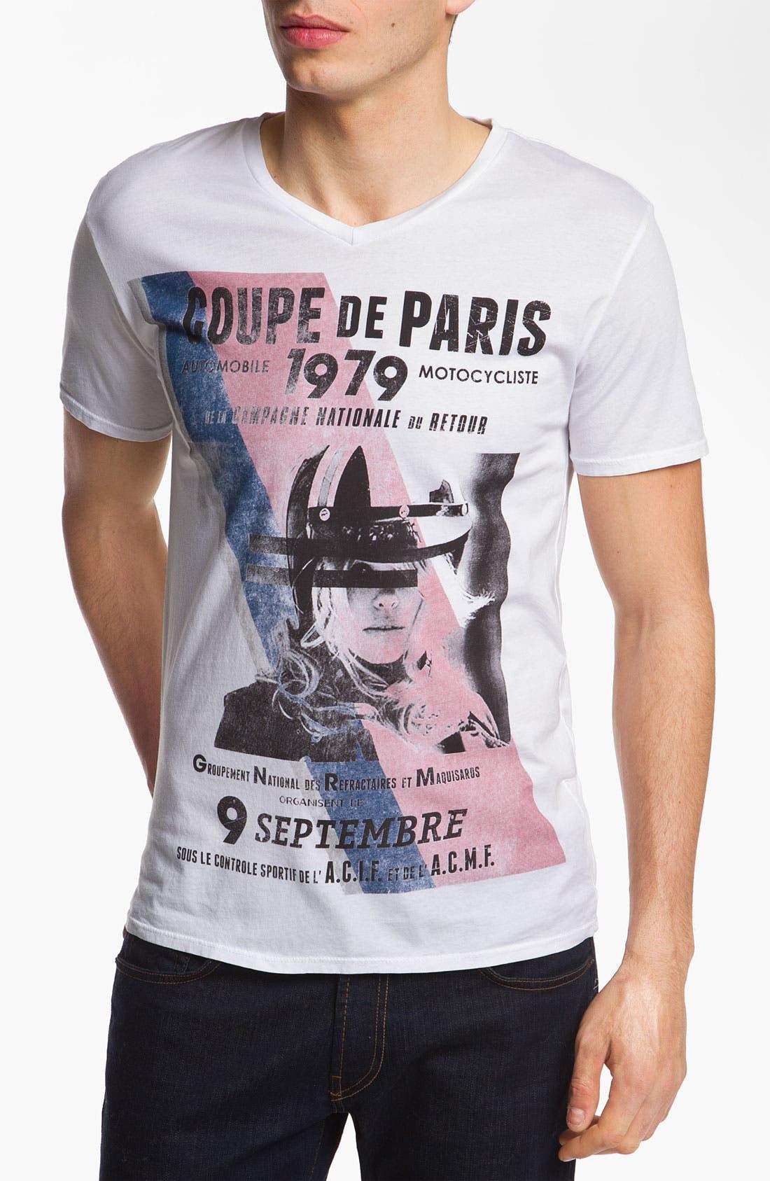 Alternate Image 1 Selected - Scott Free 'Coupe de Paris' Graphic T-Shirt
