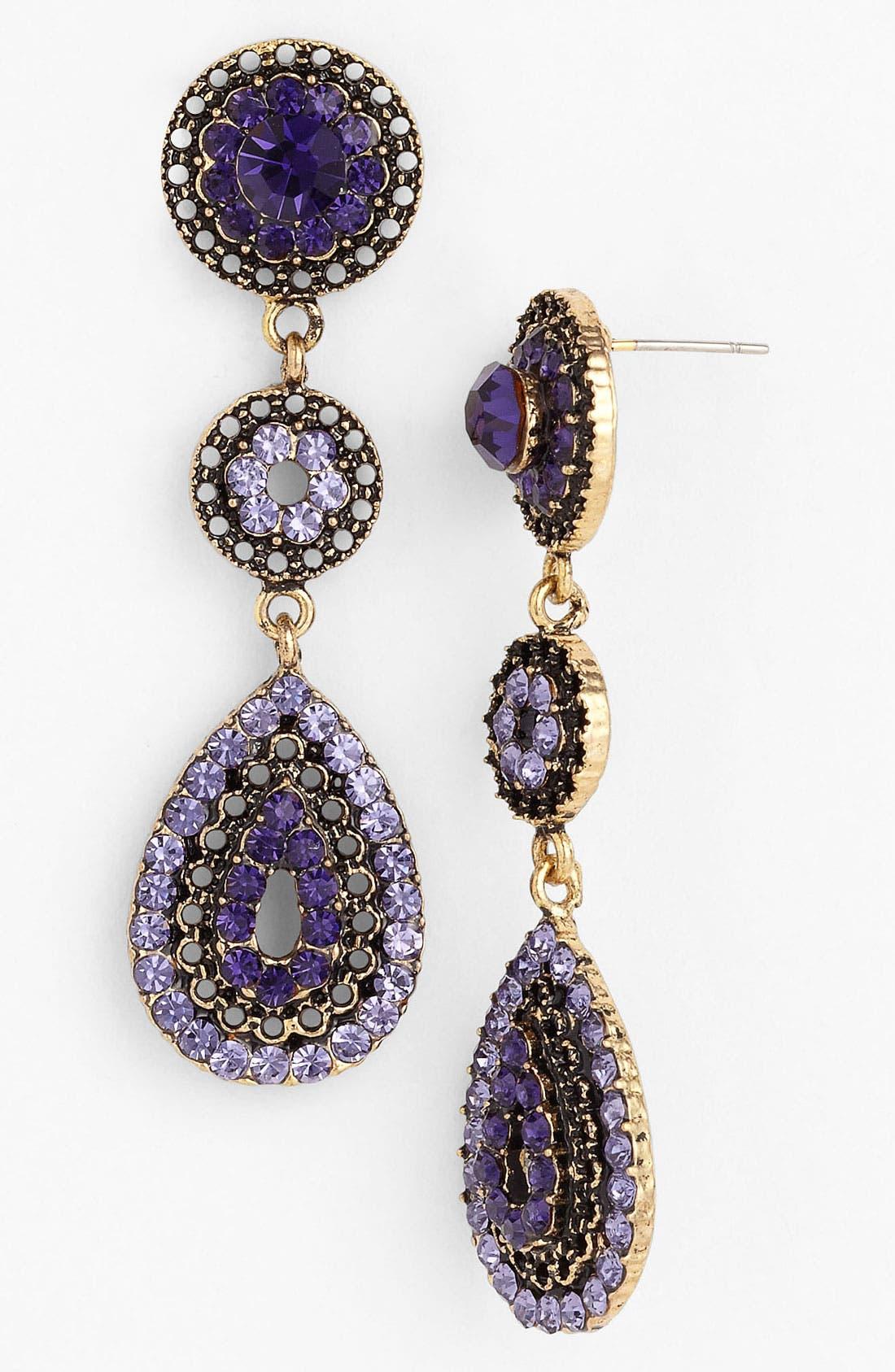 Alternate Image 1 Selected - Tasha Linear Earrings