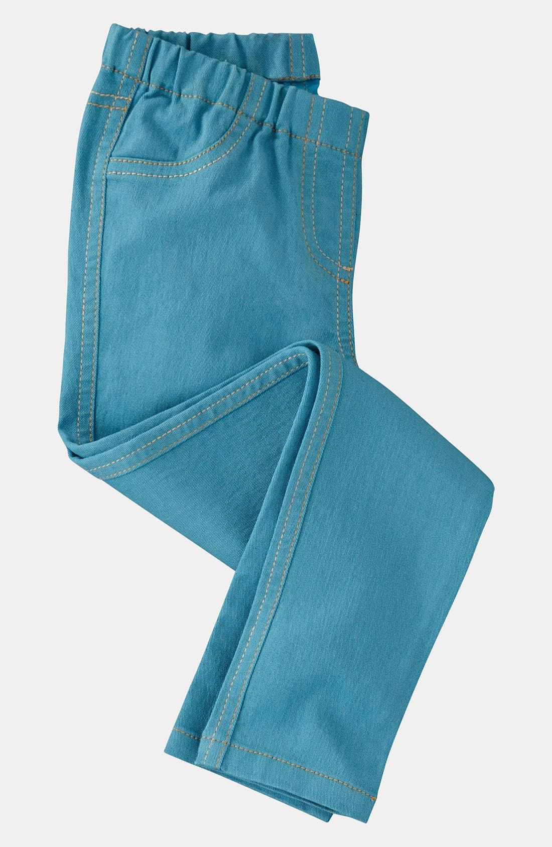 Alternate Image 1 Selected - Mini Boden Denim Leggings (Toddler)