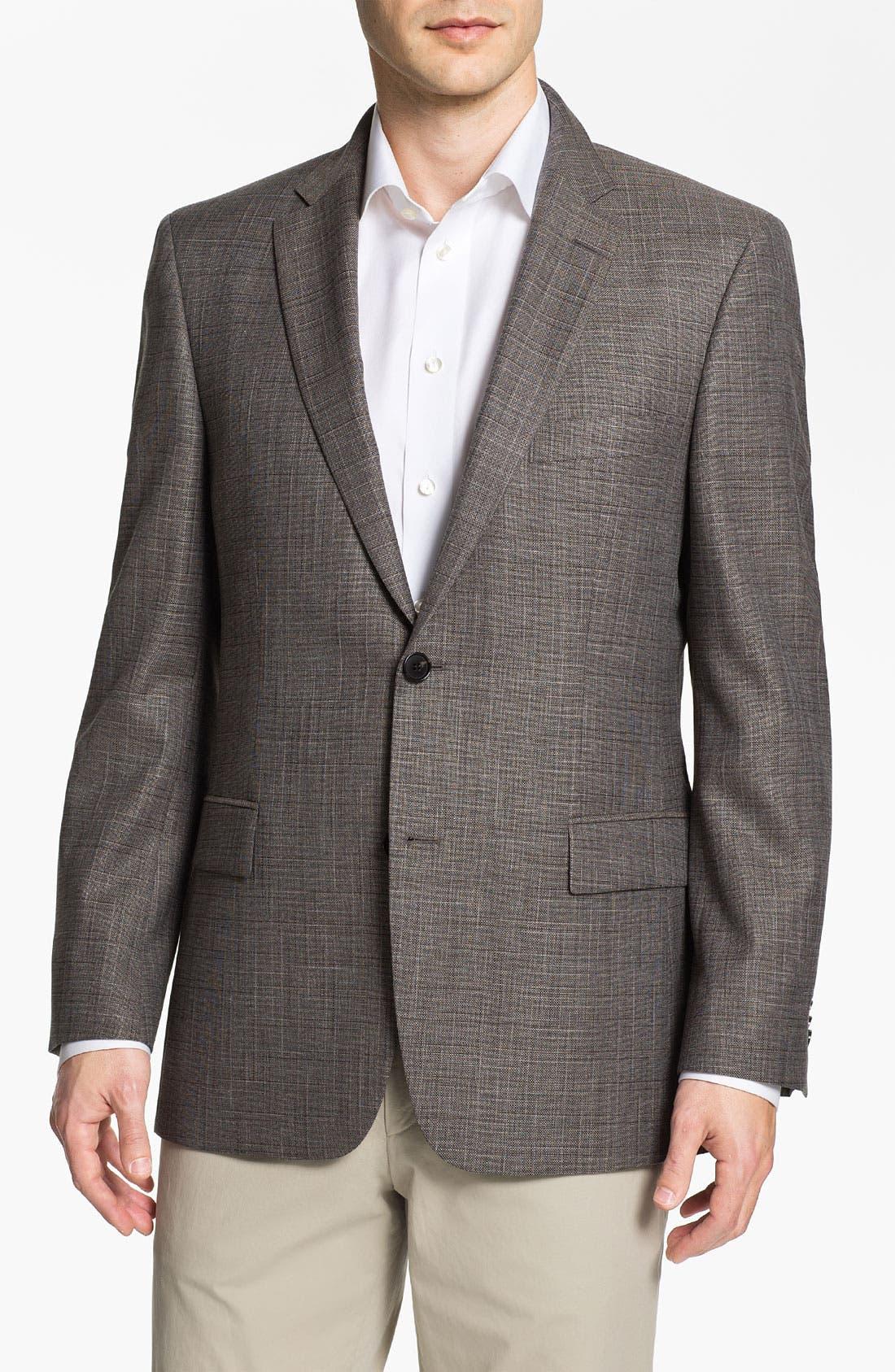 Main Image - BOSS Black 'Pasini' Wool Blend Sportcoat